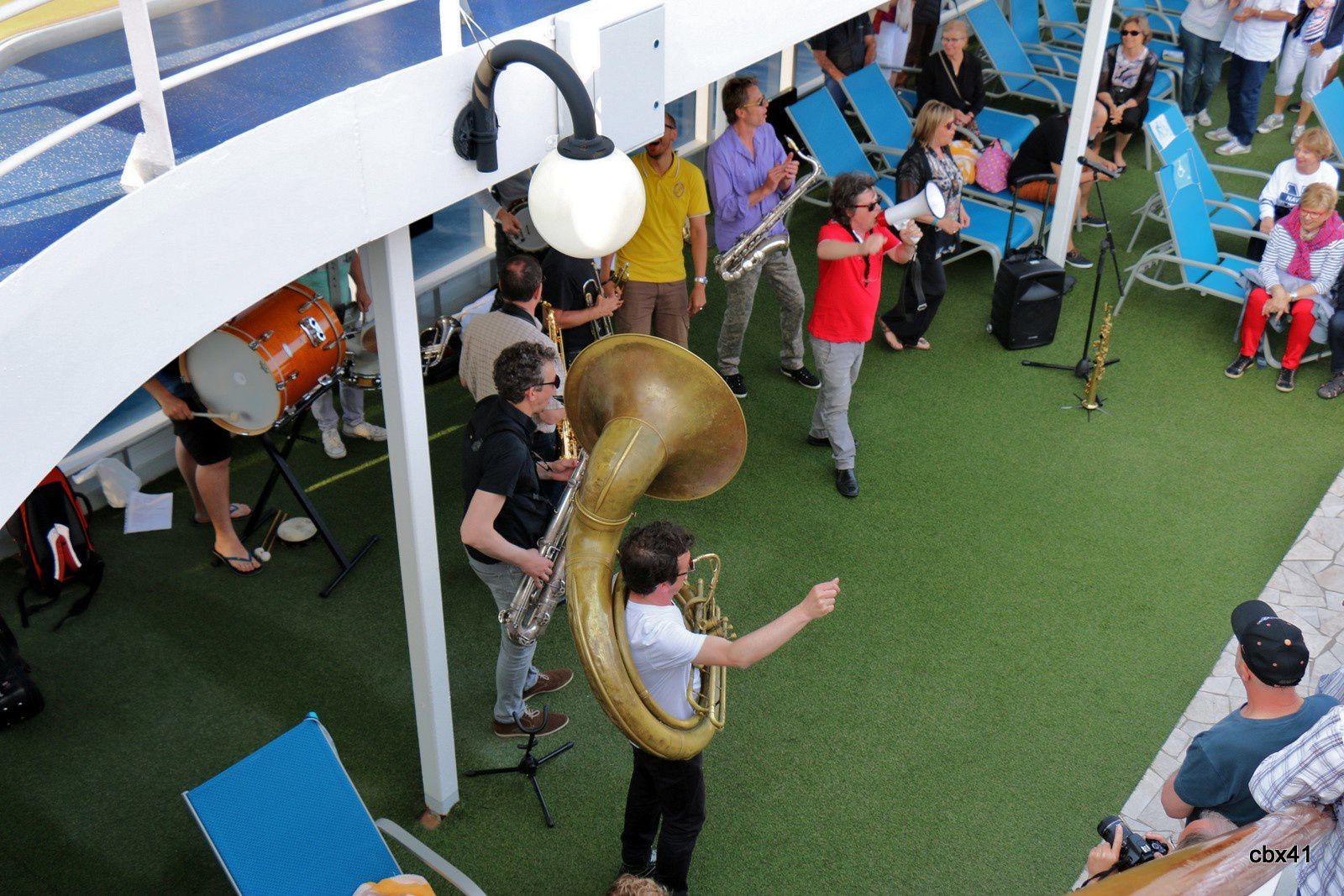 Didier Marty à bord de Costa neoRiviera