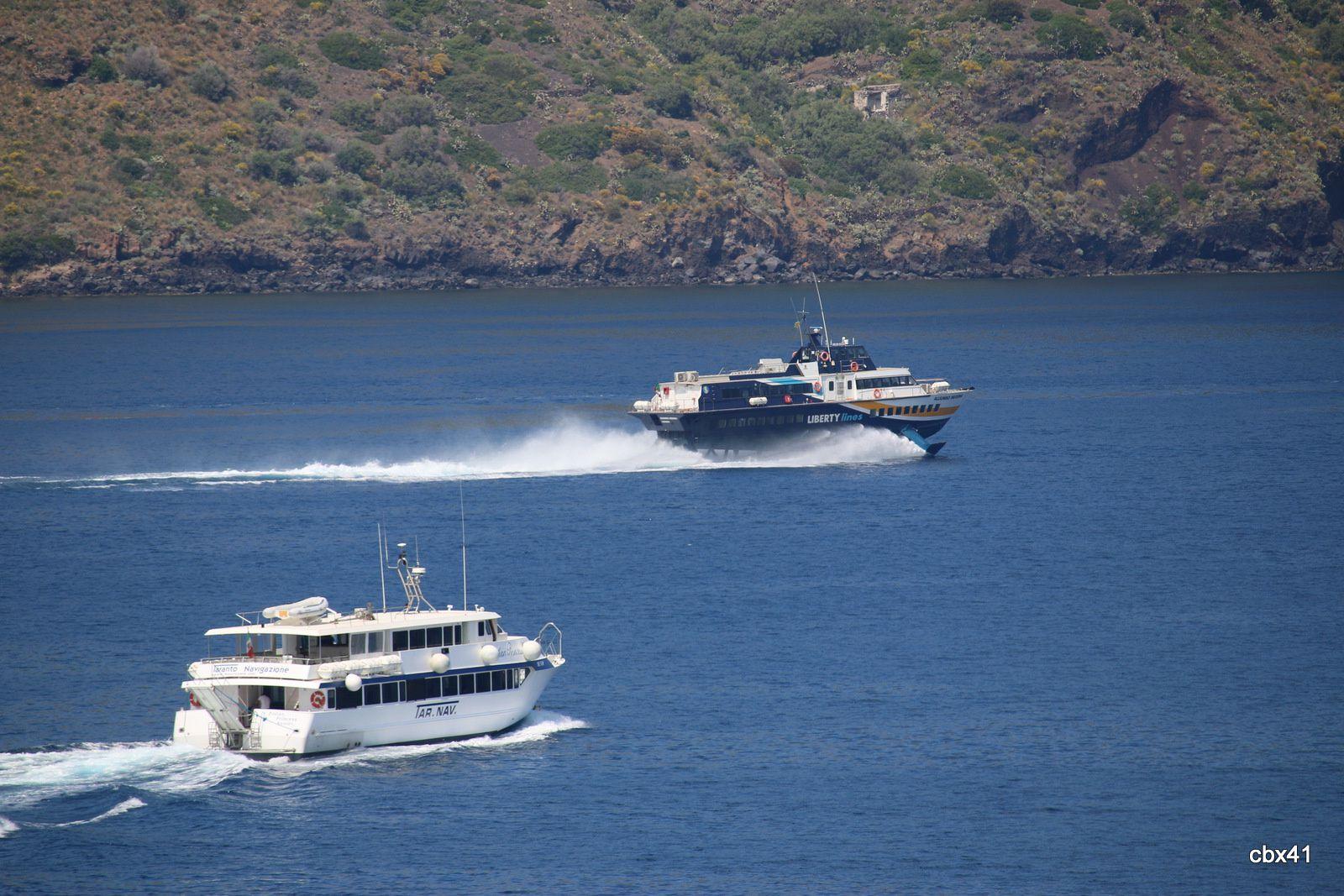 Ferries rapides Liberty Lines, Lipari (Sicile)