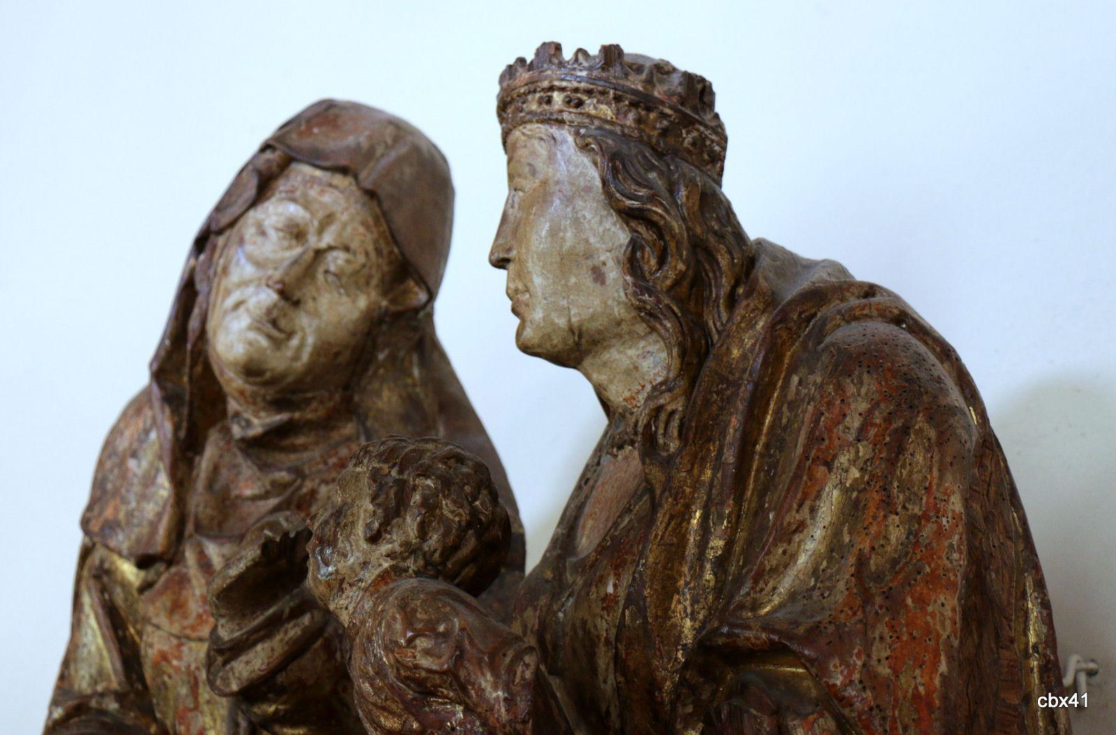 Sainte Anne, la Vierge et l'Enfant