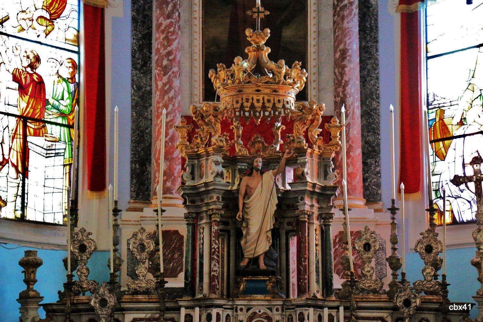 Portail de la cathédrale San Bartolomeo, Lipari (Sicile)