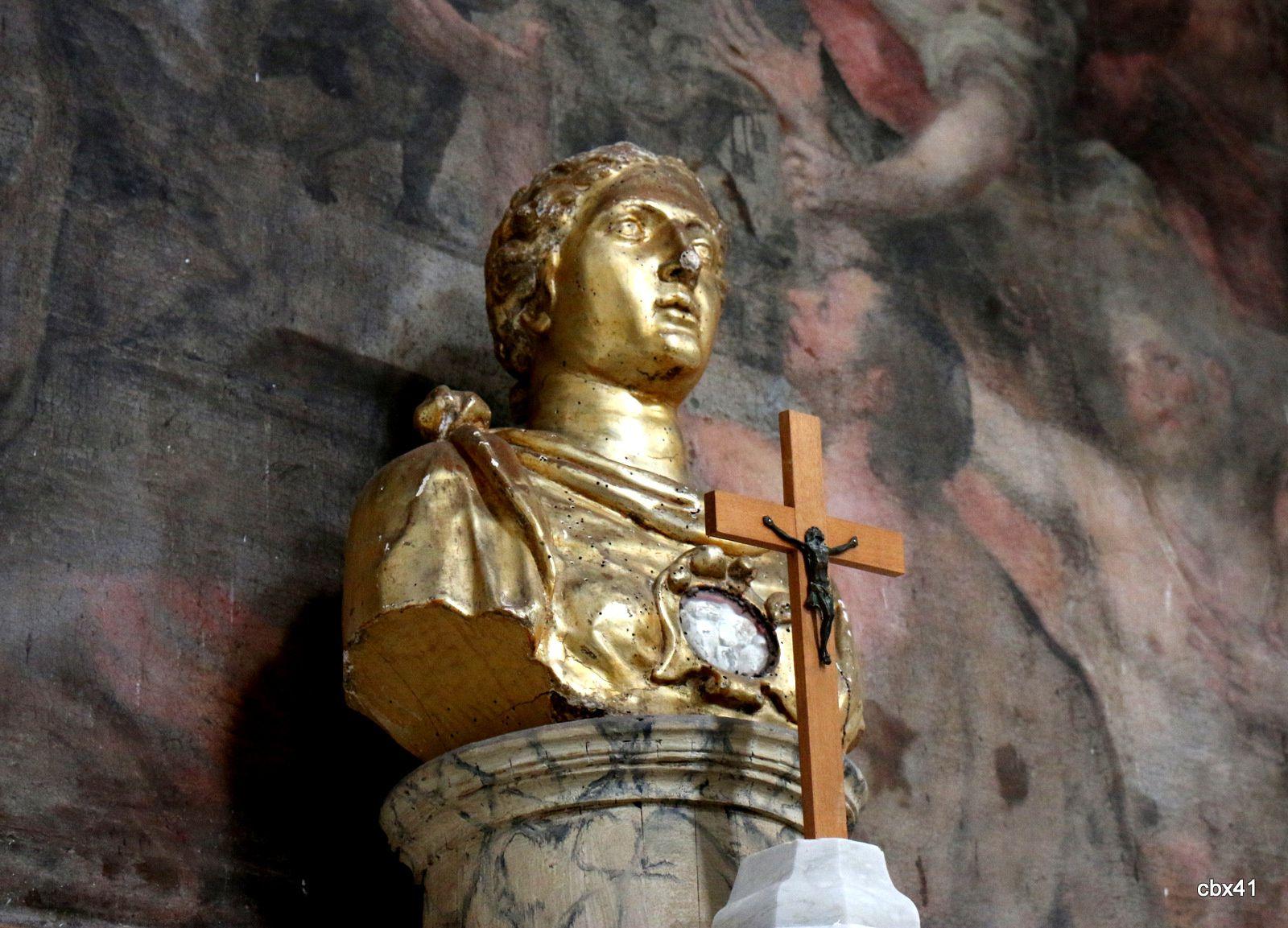 Buste de sainte Lucie vierge et martyre, cathédrale de Lipari