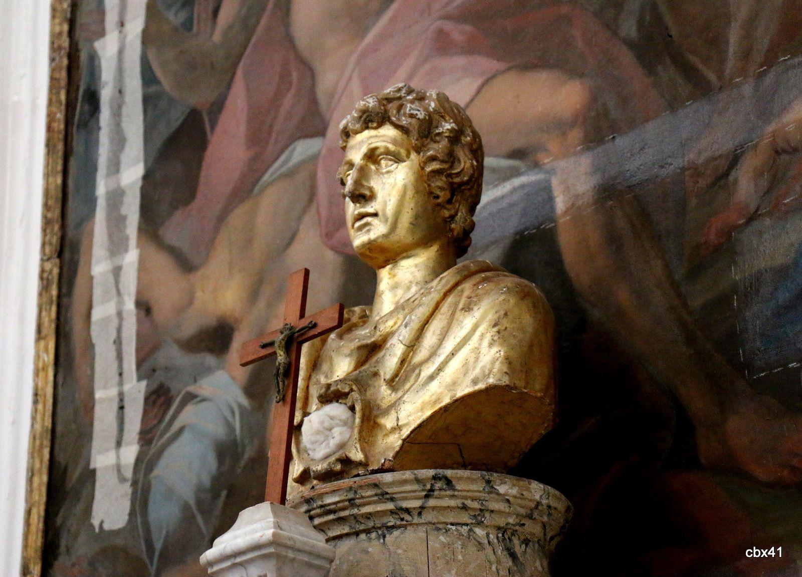 Buste de saint Philippe apôtre, cathédrale de Lipari
