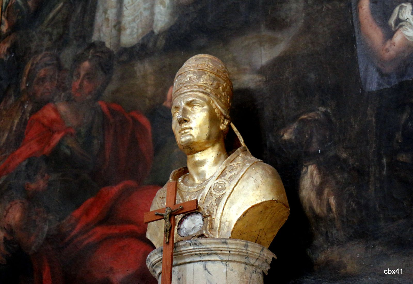 Buste de saint Agatone (martyr), cathédrale de Lipari