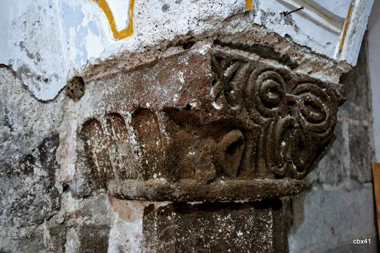Chapiteaux, Cloître normand (Lipari)