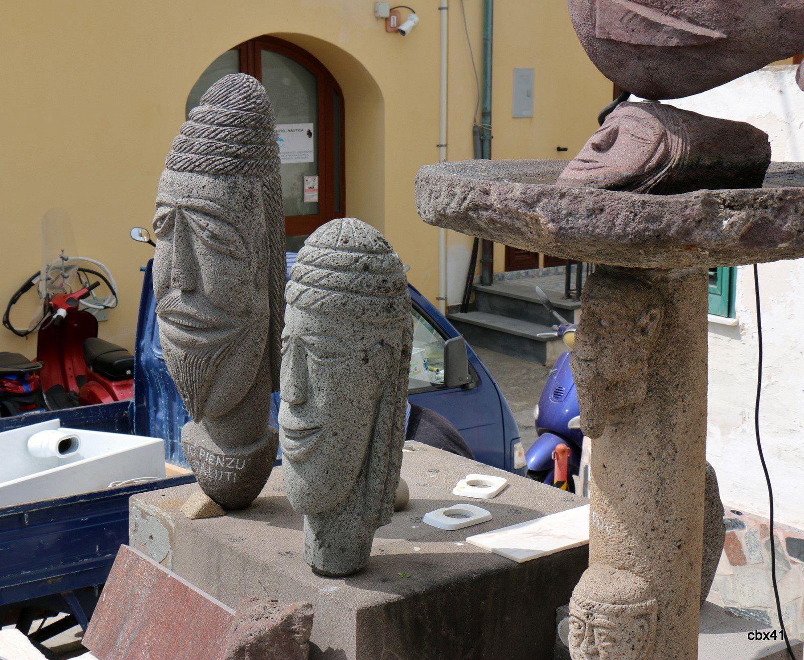 Atelier de sculpture à Lipari (1/3)