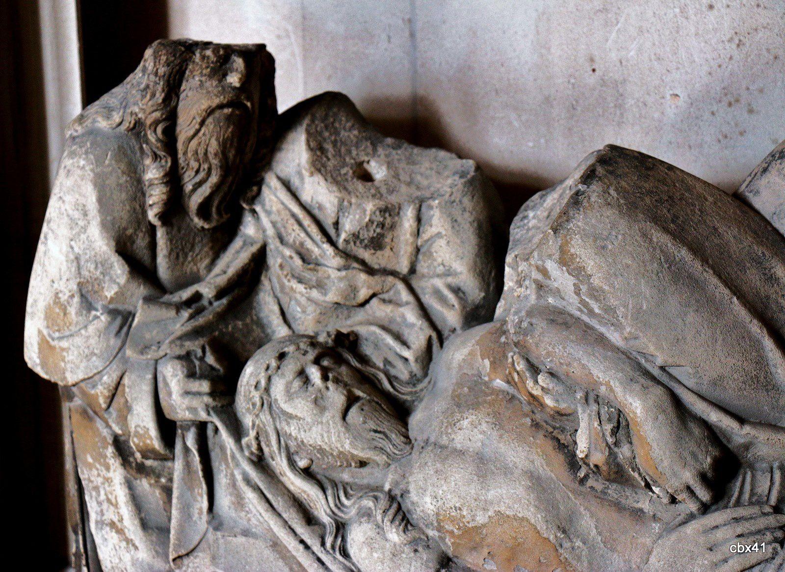 La mise au tombeau, palais de la Bénédictine
