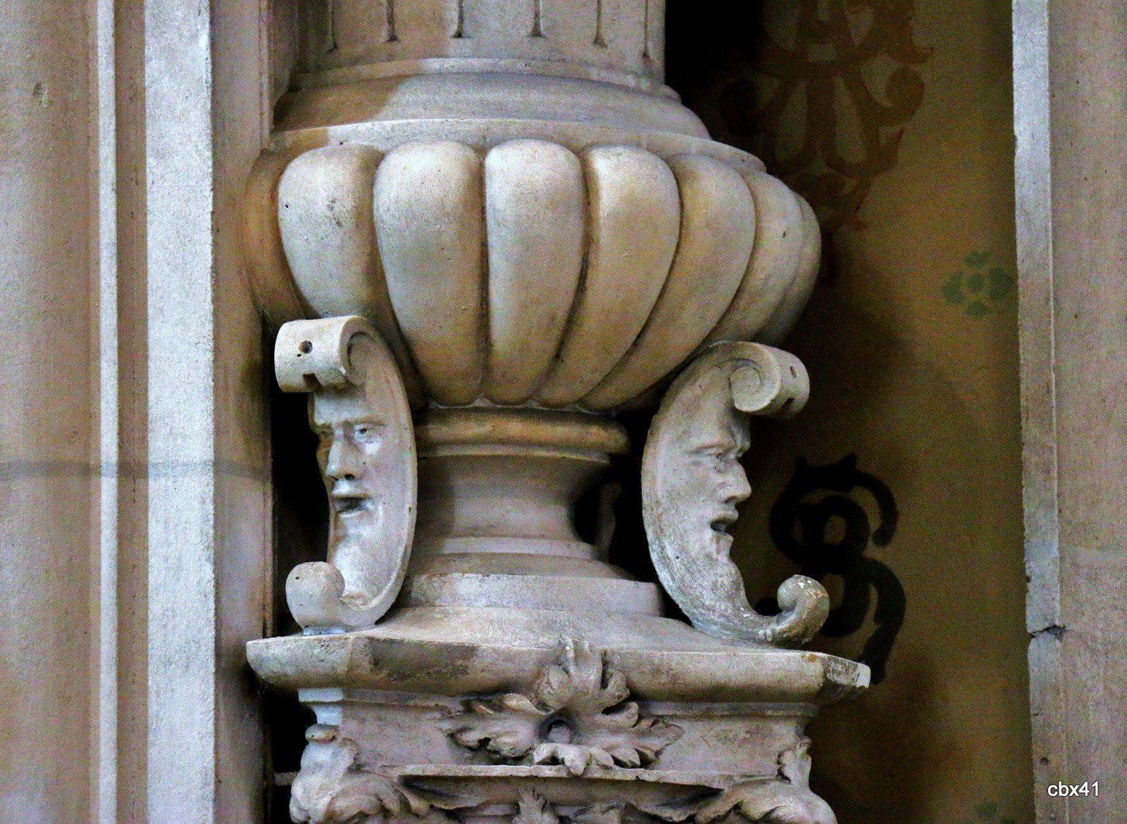Mascarons, palais de la Bénédictine