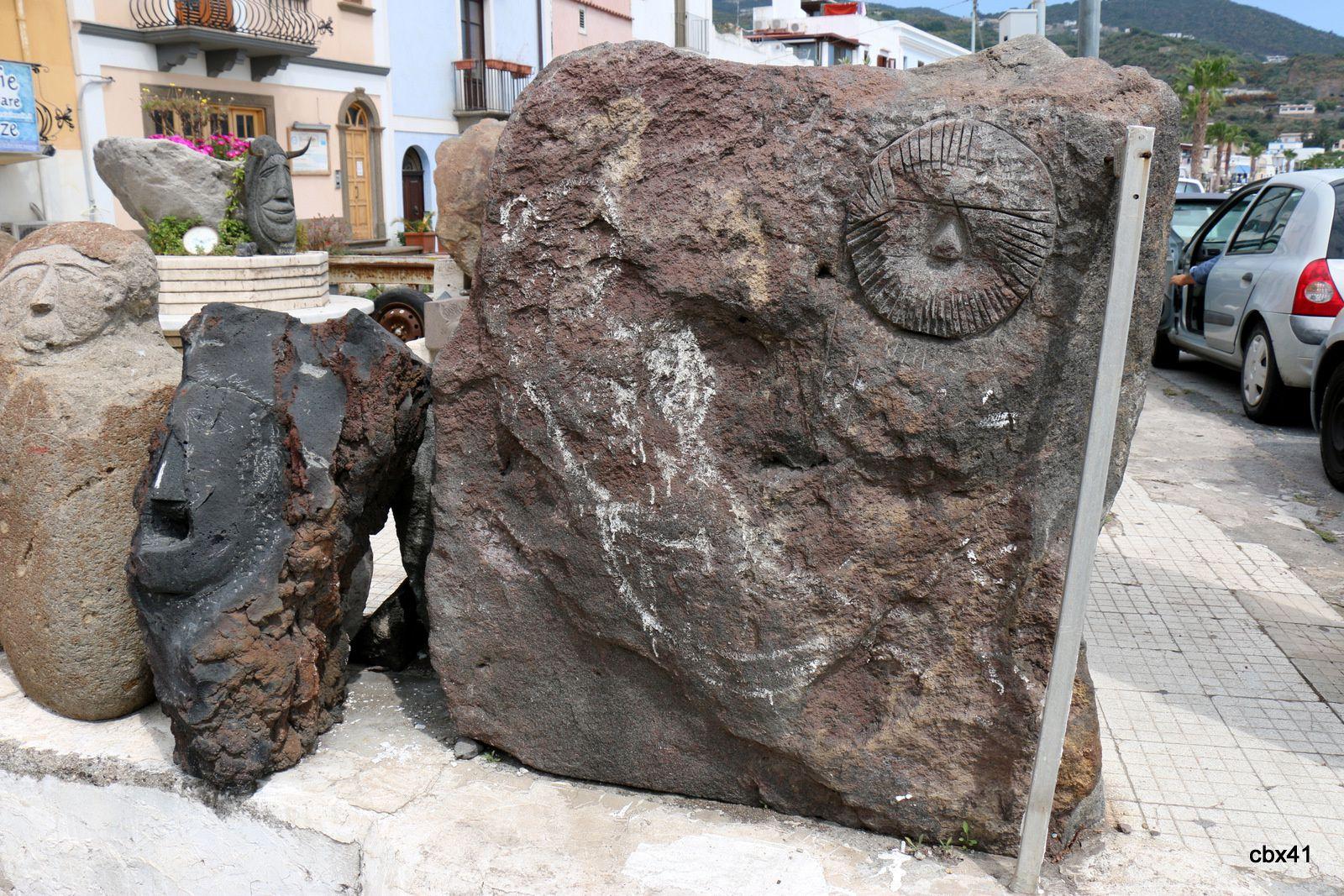 Atelier de sculpture à Lipari (3/3)