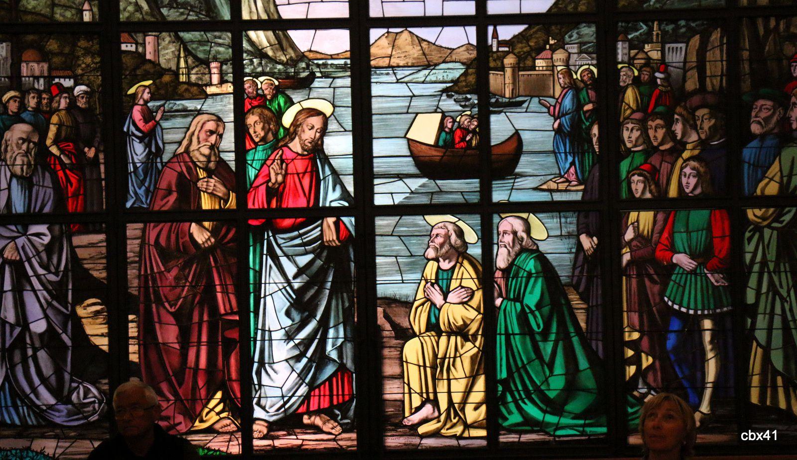 Vitraux de l'église saint Pierre, Lipari