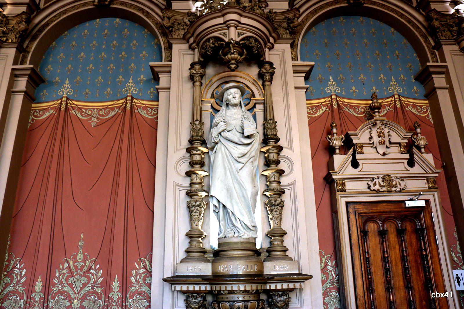 Jean Balue, salle des abbés du palais de la Bénédictine