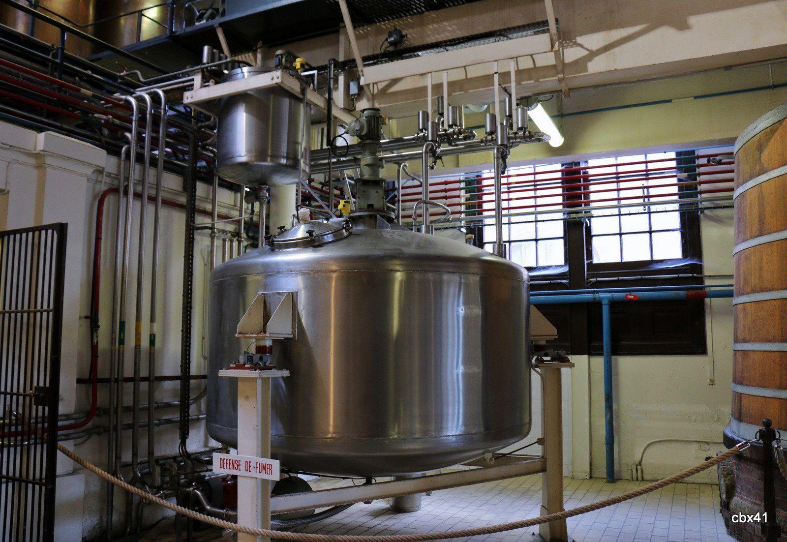 La distillerie, Palais de la Bénédictine