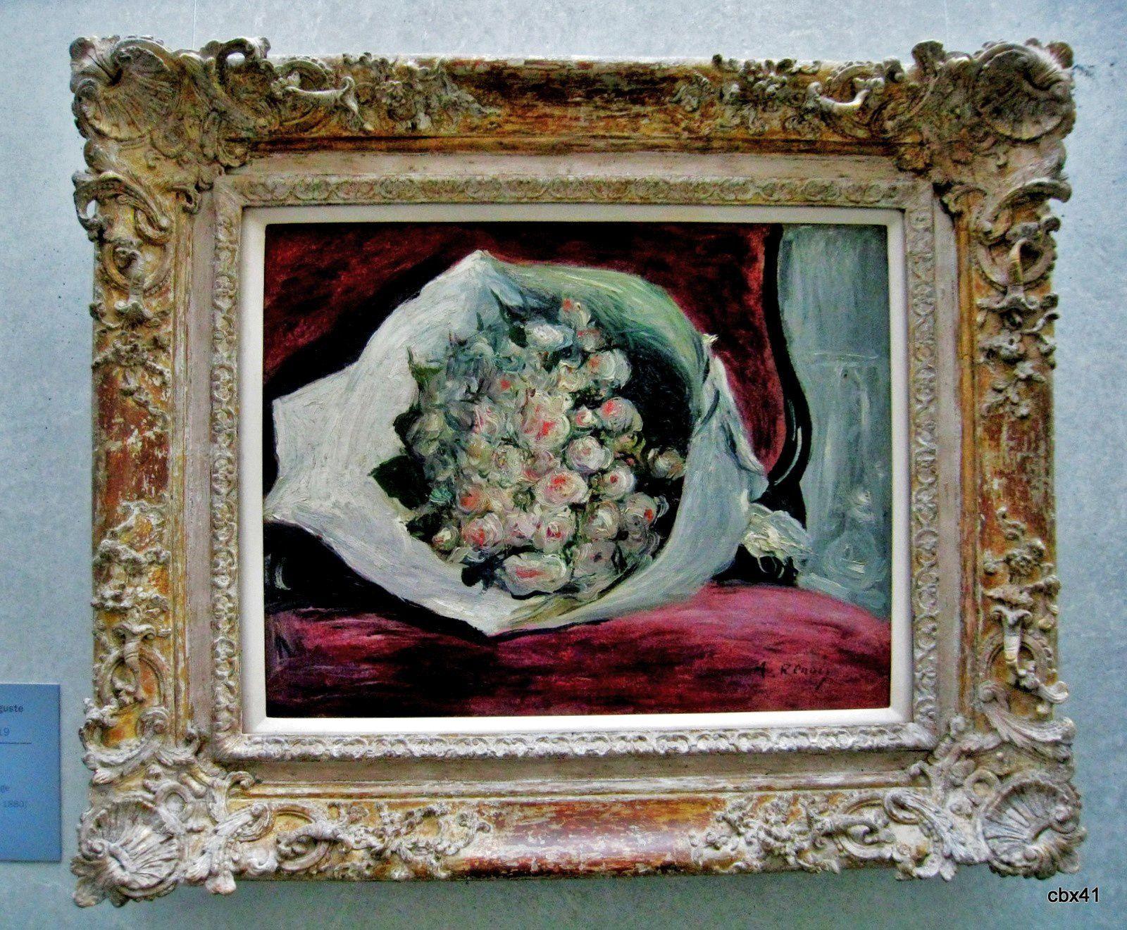 Pierre-Auguste Renoir, Bouquet dans une loge