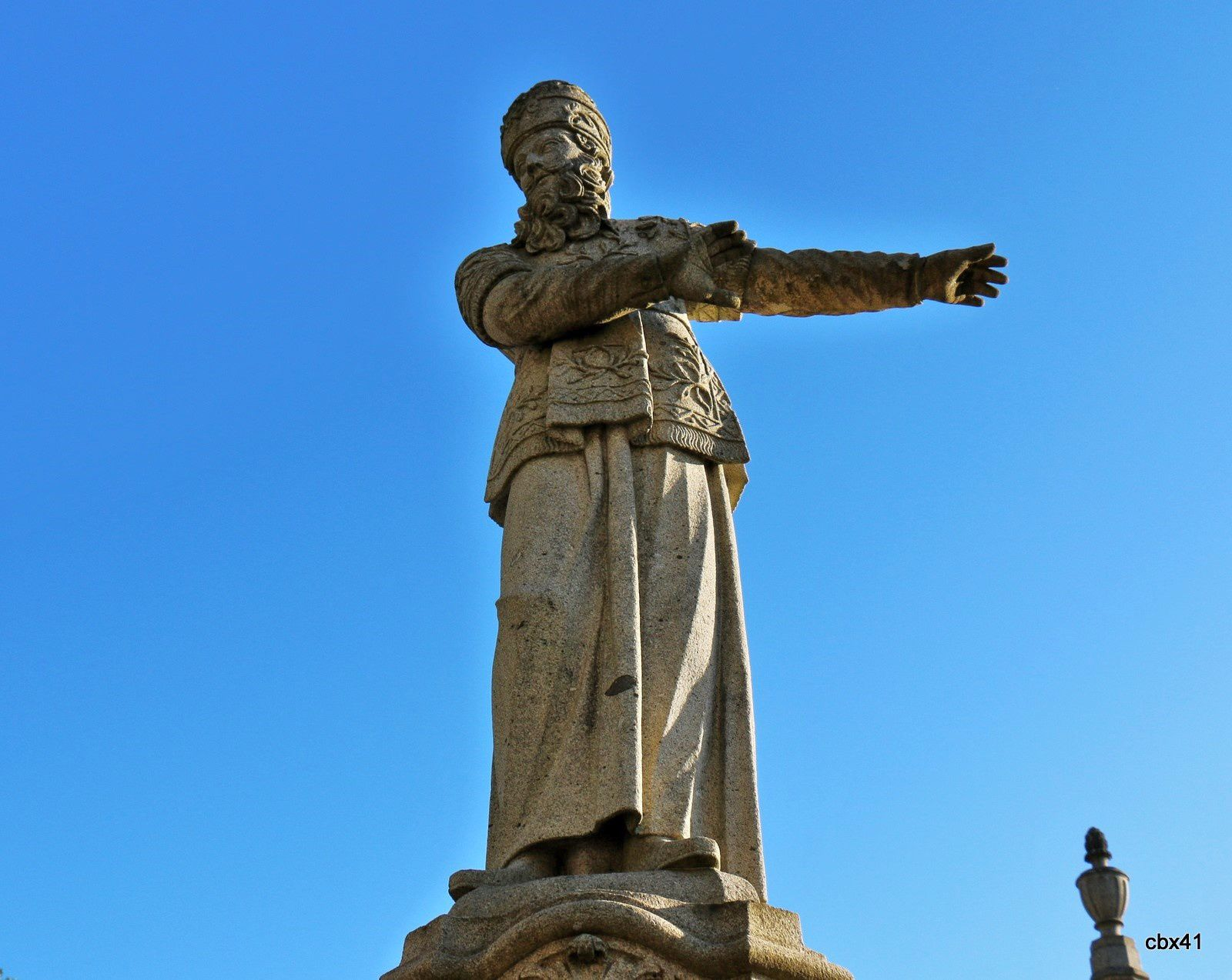 Hérode Antipas, esplanade de l'église du Bon Jésus de Braga, Portugal