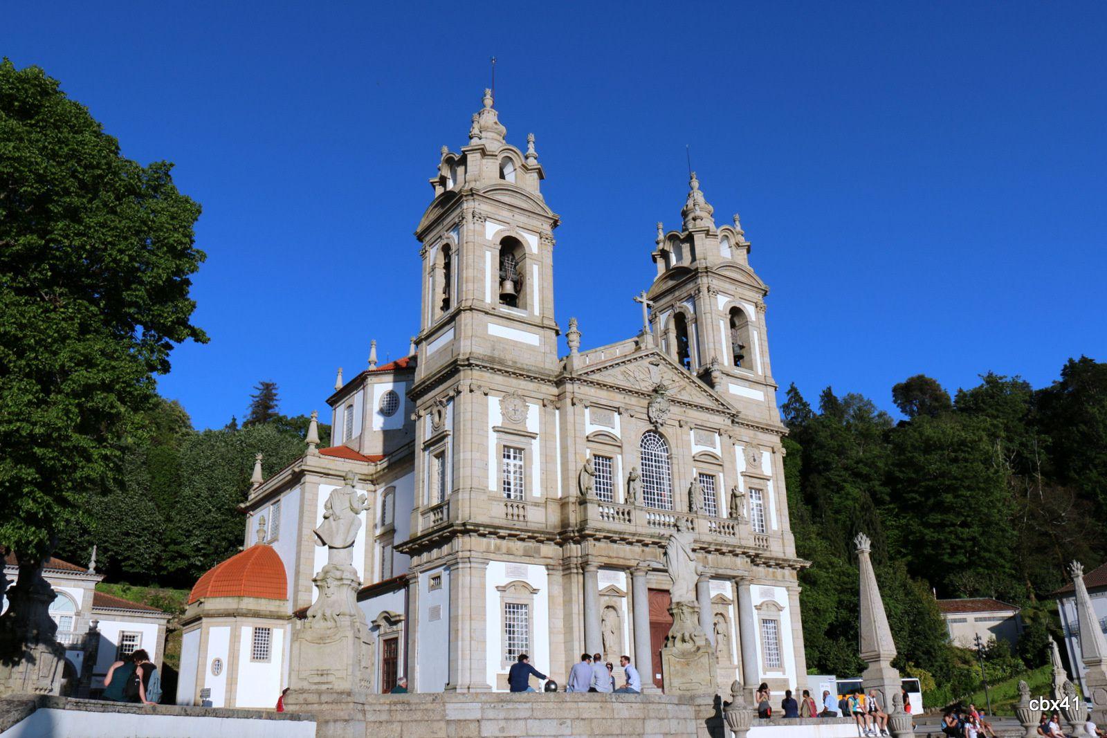 Caïphaz, esplanade de l'église du Bon Jésus de Braga, Portugal