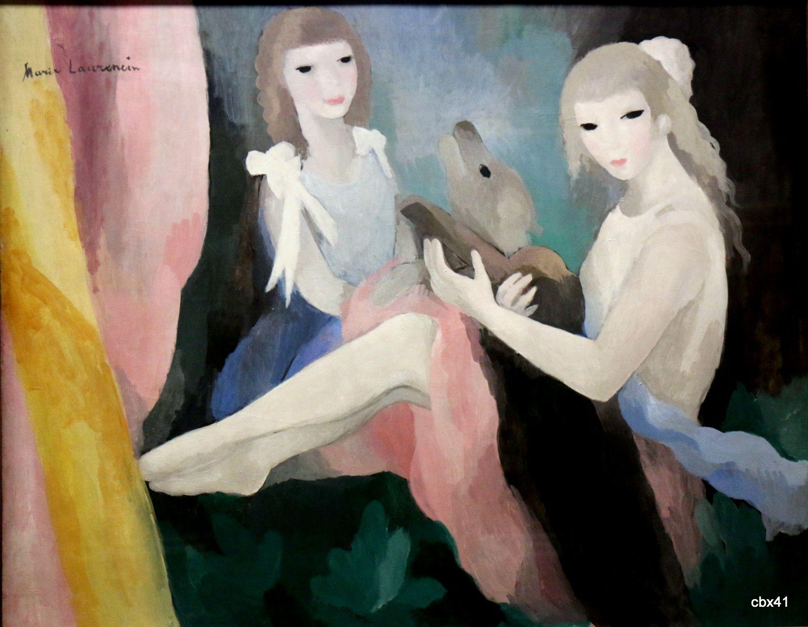 Marie Laurencin, Femmes au chien