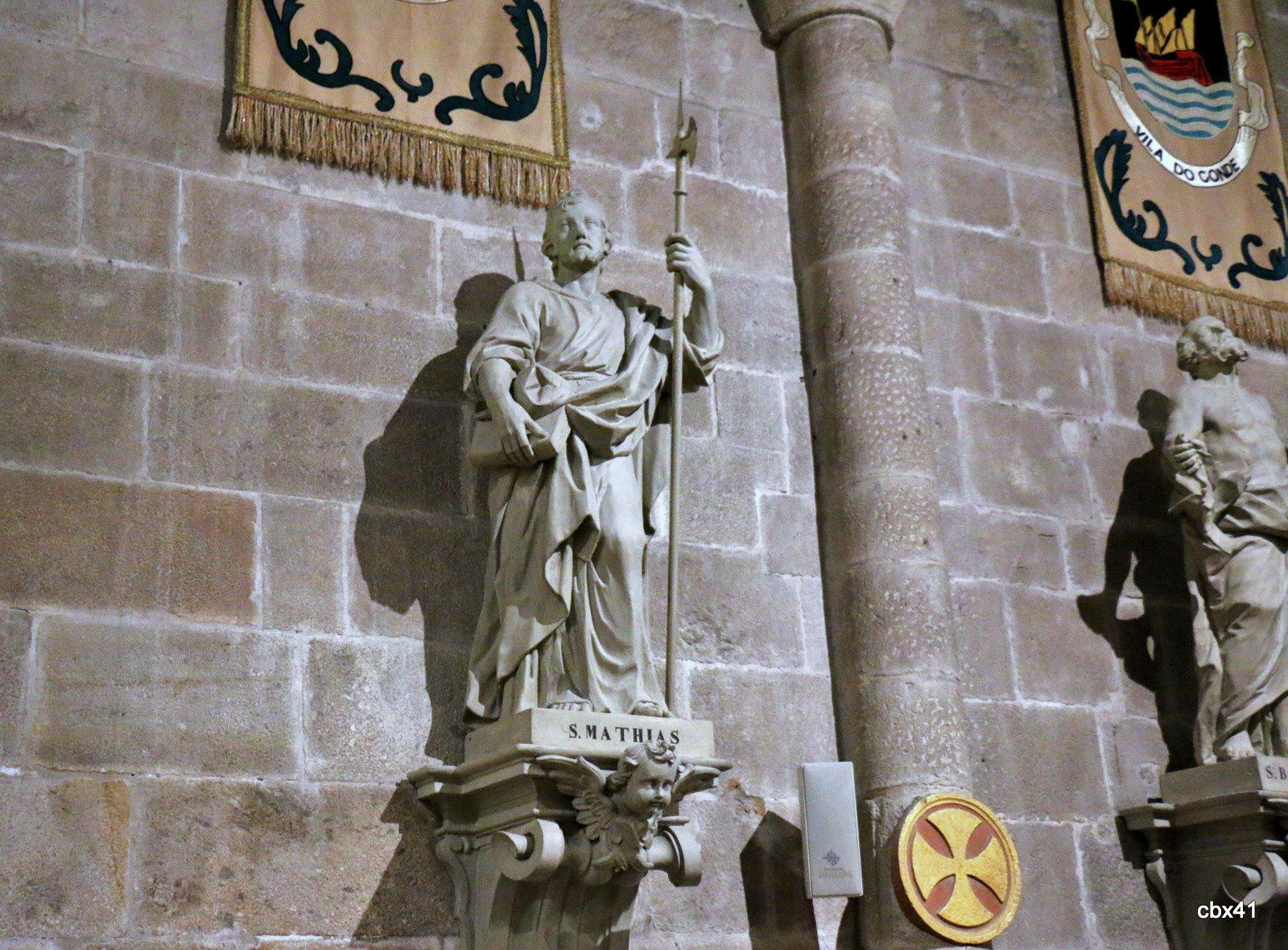 Saint Mathias, cathédrale de Braga (Portugal)