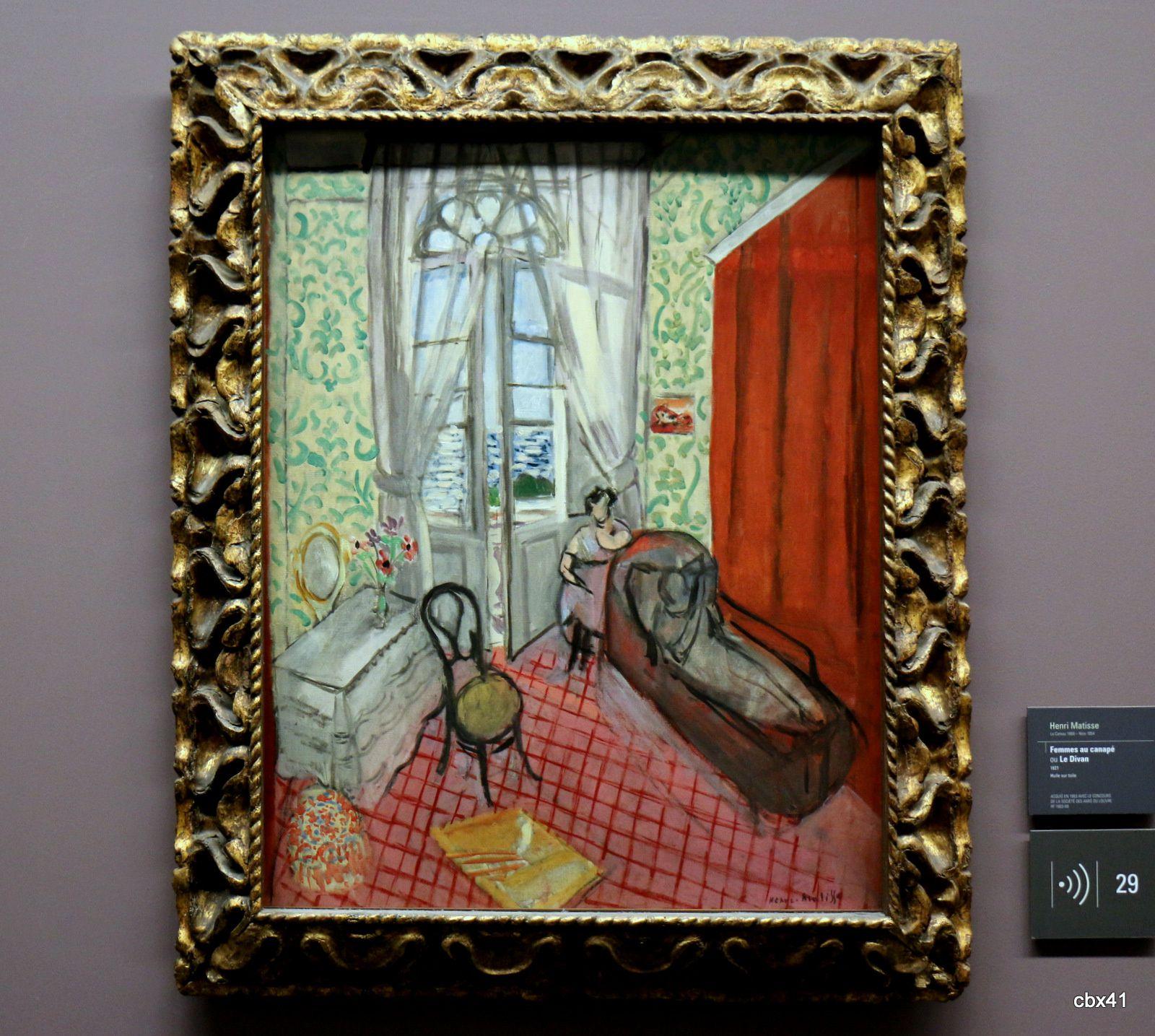 Henri Matisse, Femmes au canapé ou Le Divan