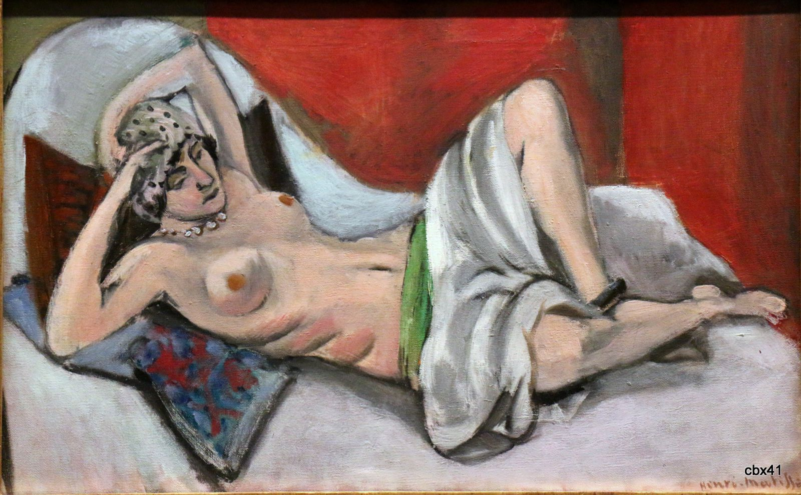 Henri Matisse, Nu drapé étendu