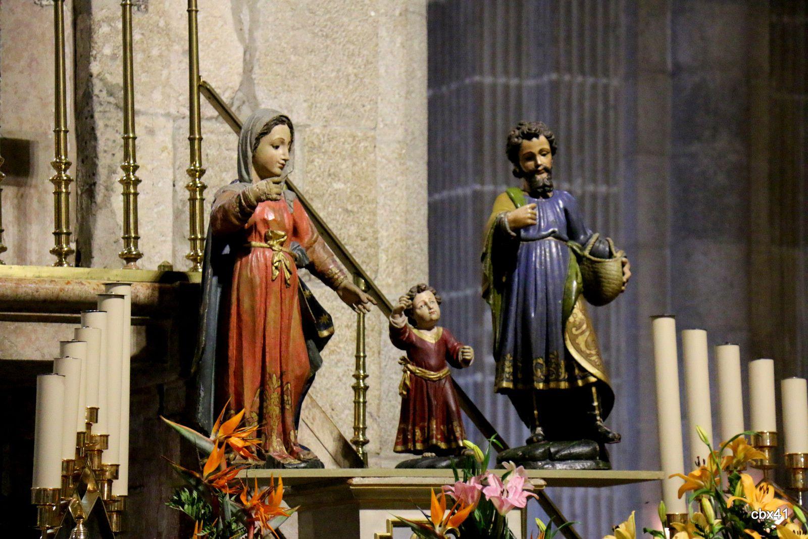 La Sainte Famille, cathédrale de Braga (Portugal)
