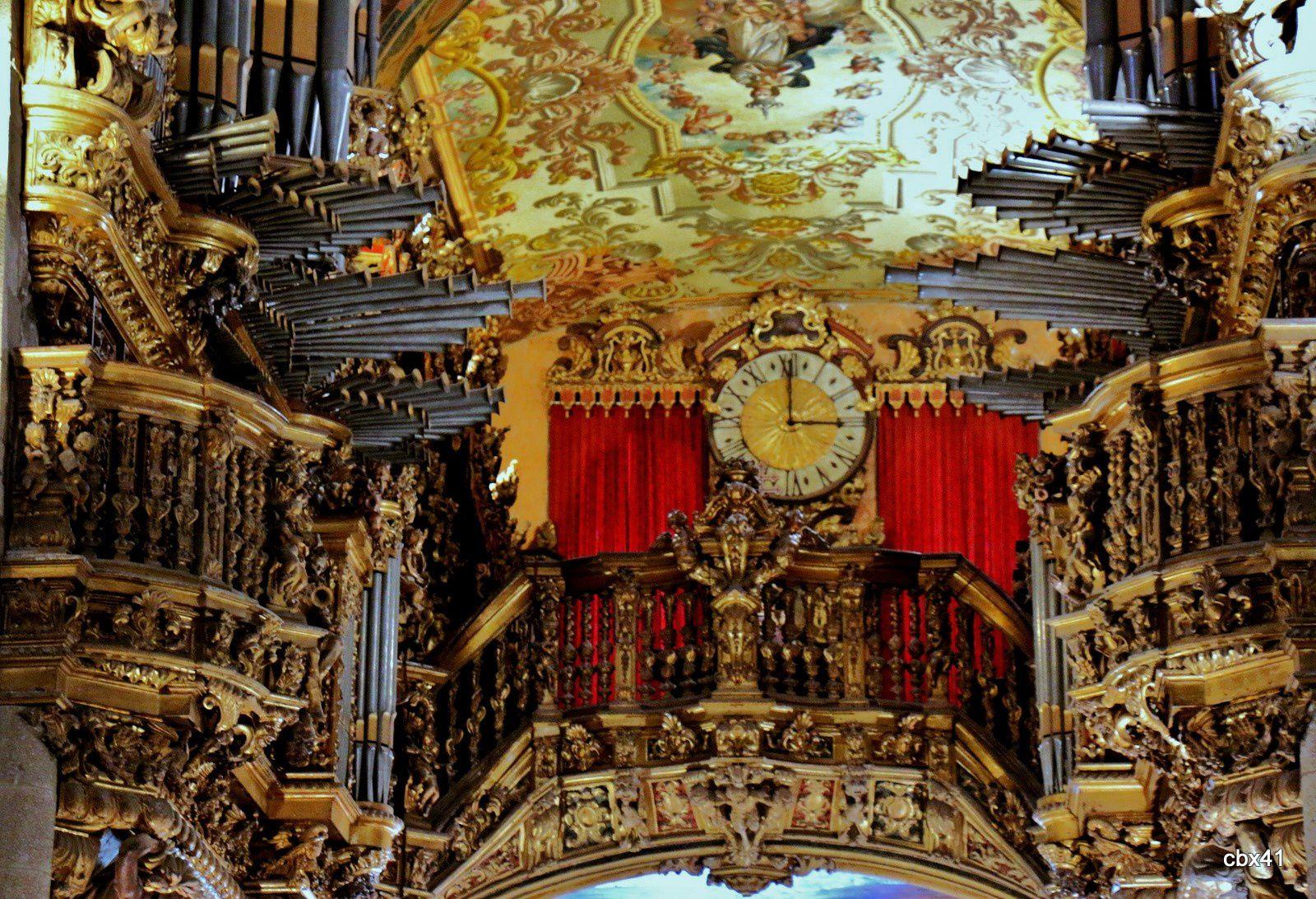 Les Orgues de la cathédrale de Braga (Portugal)