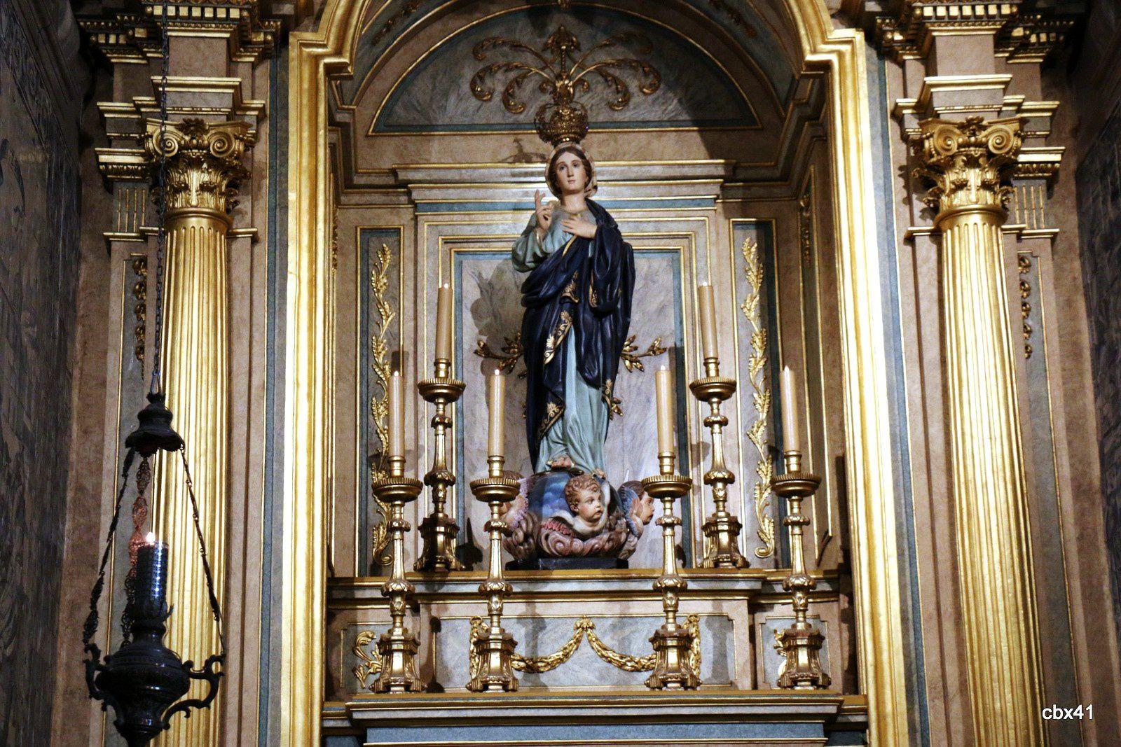 Deux chapelles, cathédrale de Braga (Portugal)