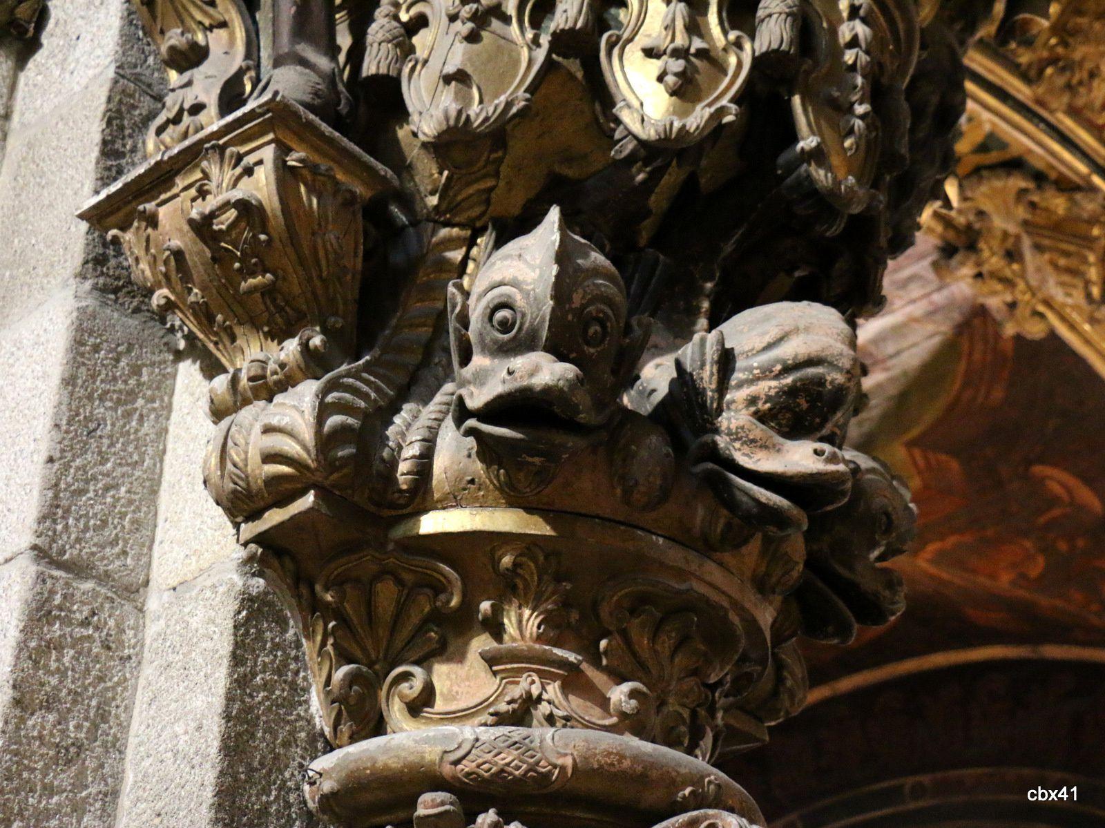 Chapiteaux, cathédrale de Braga (Portugal)