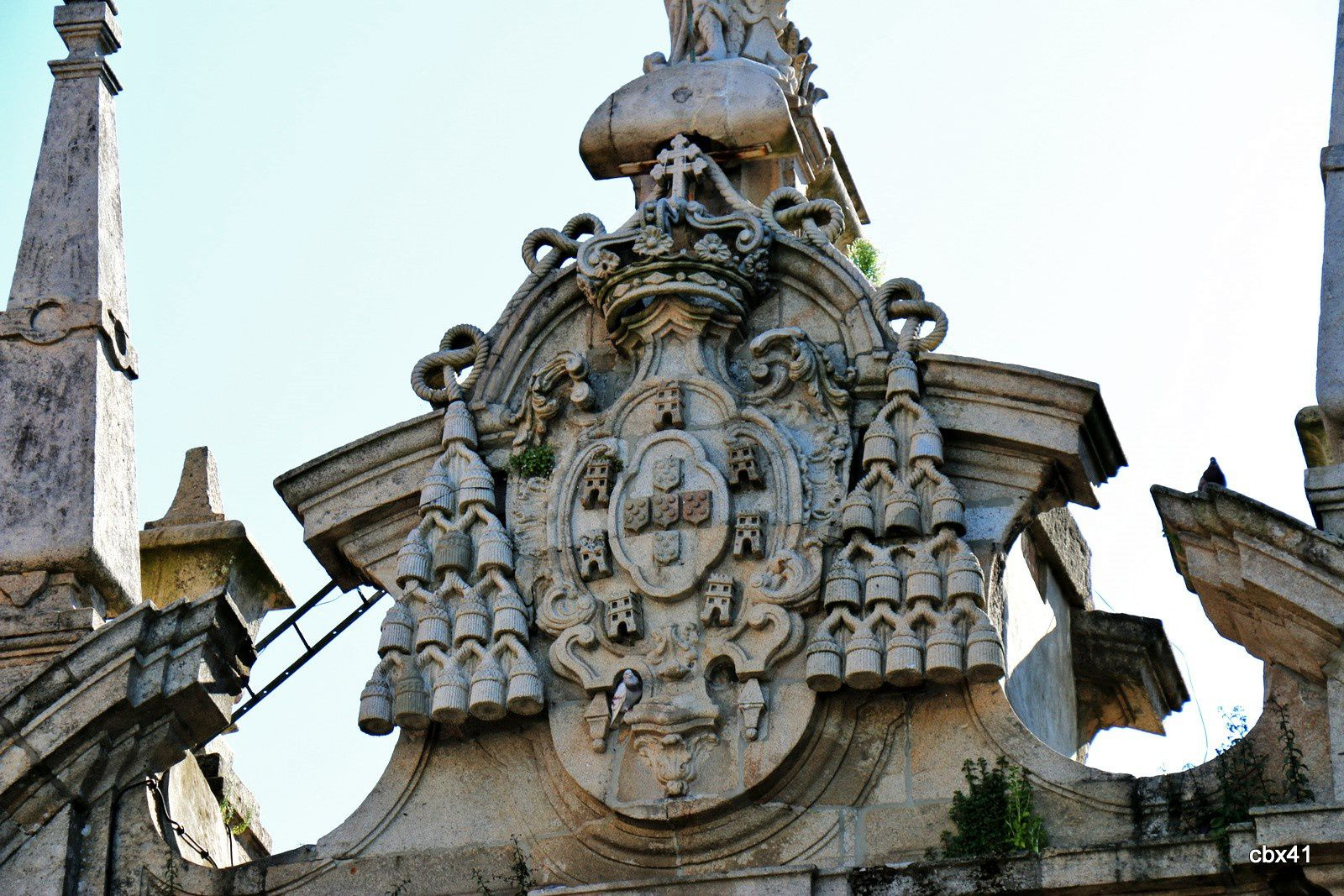 Porte d'entrée de la ville de Braga, Portugal