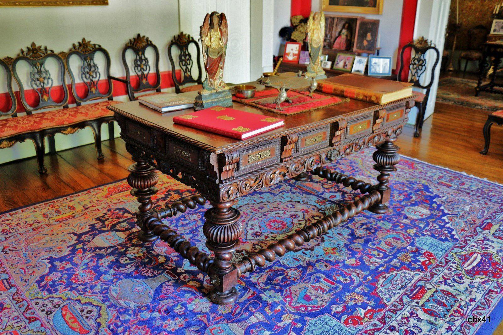 Un bureau de la Casa de Vila Verde, Portugal