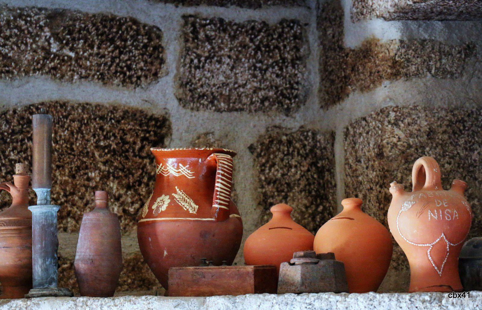 Poteries, cuisine de la Casa de Vila Verde, Portugal