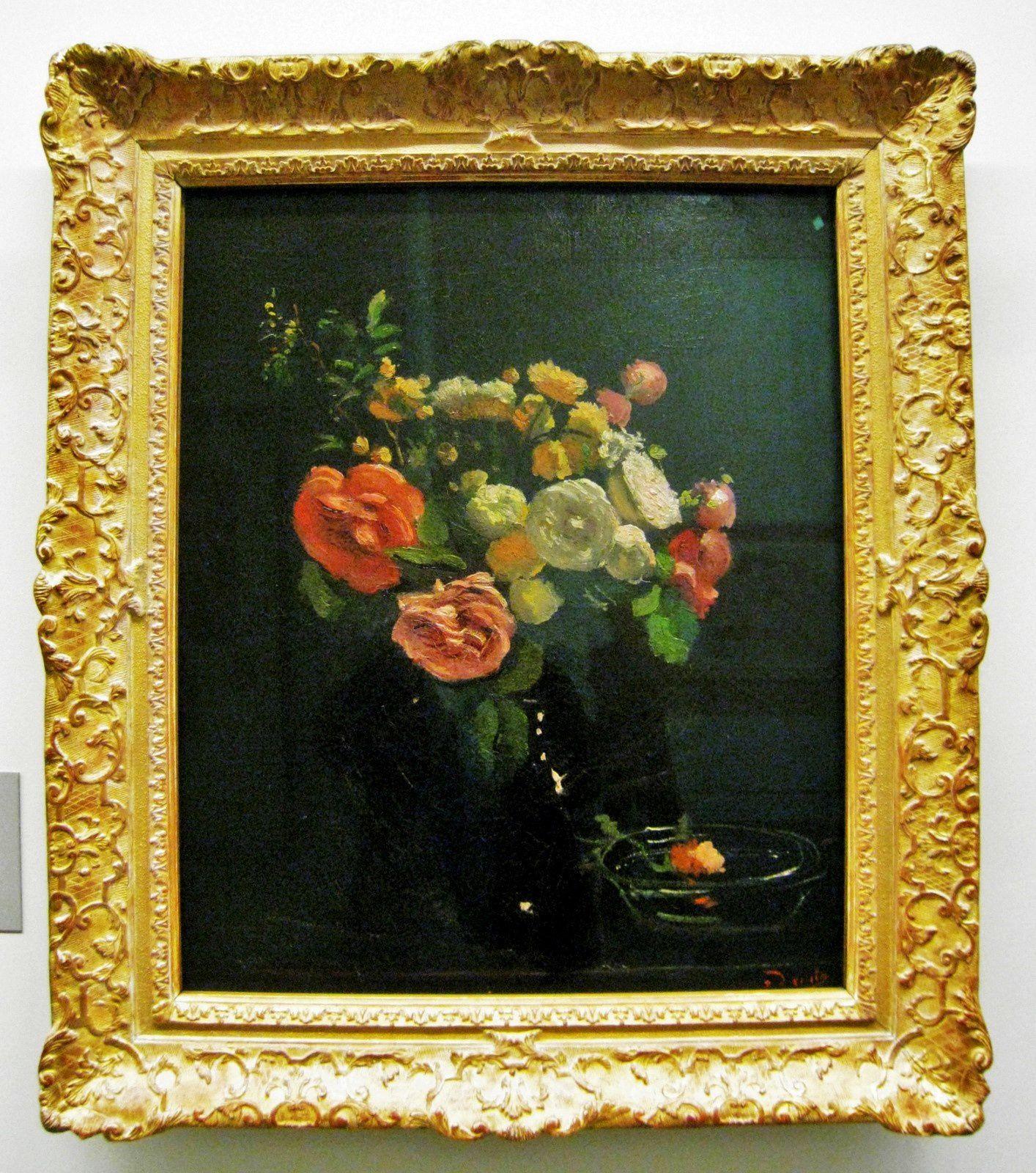 André Derain, Roses sur fond noir