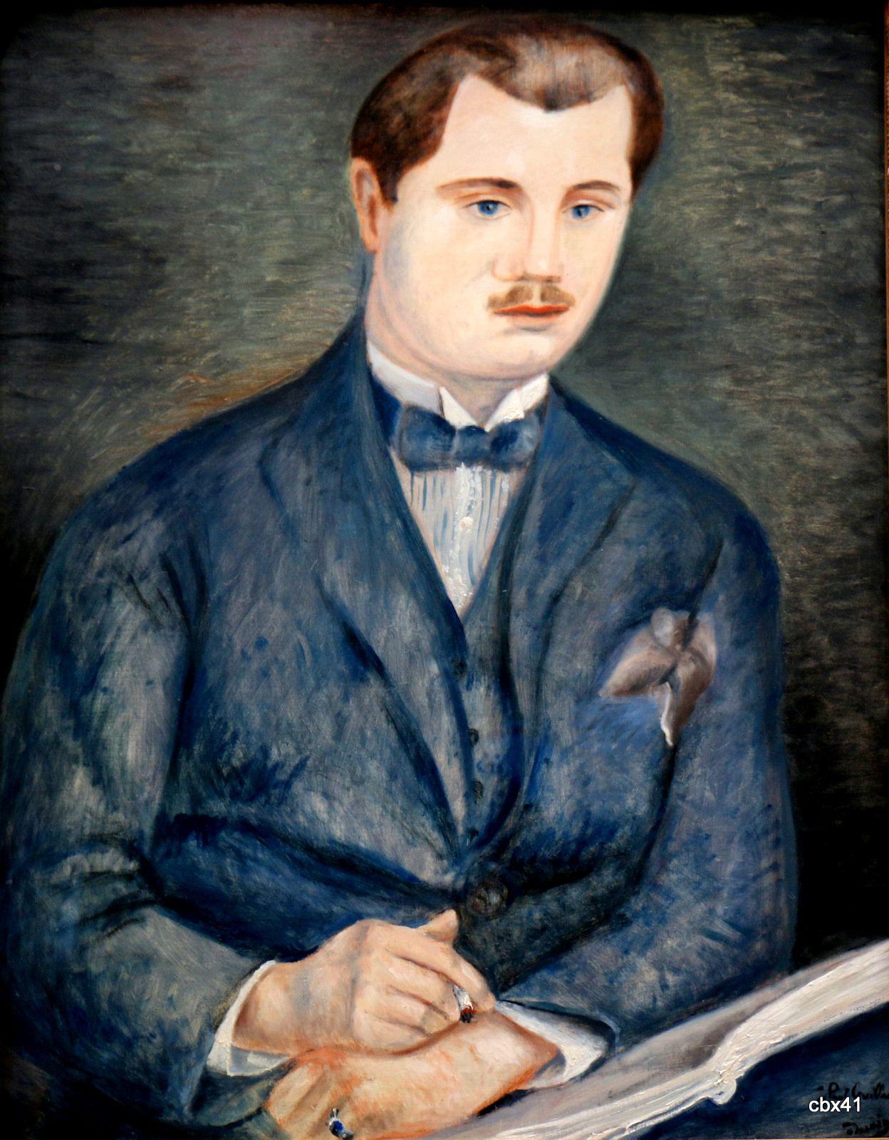 André Derain, Portrait de Paul Guillaume