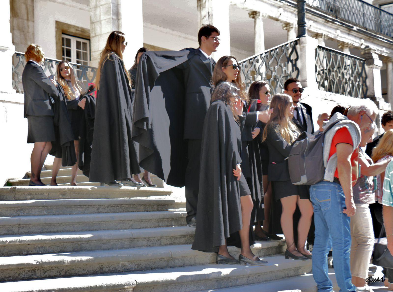 Etudiants de l'Université de Coimbra (Portugal)