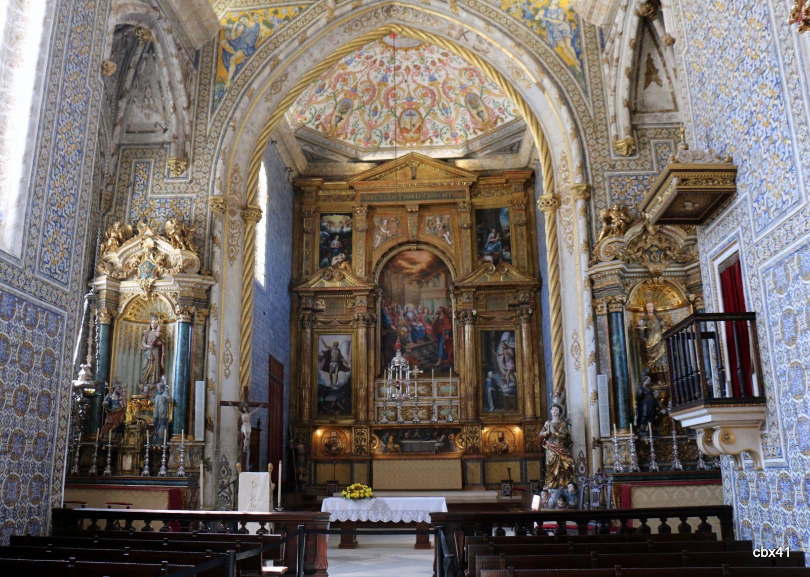 Chapelle Saint-Michel de l'Université de Coimbra (Portugal)
