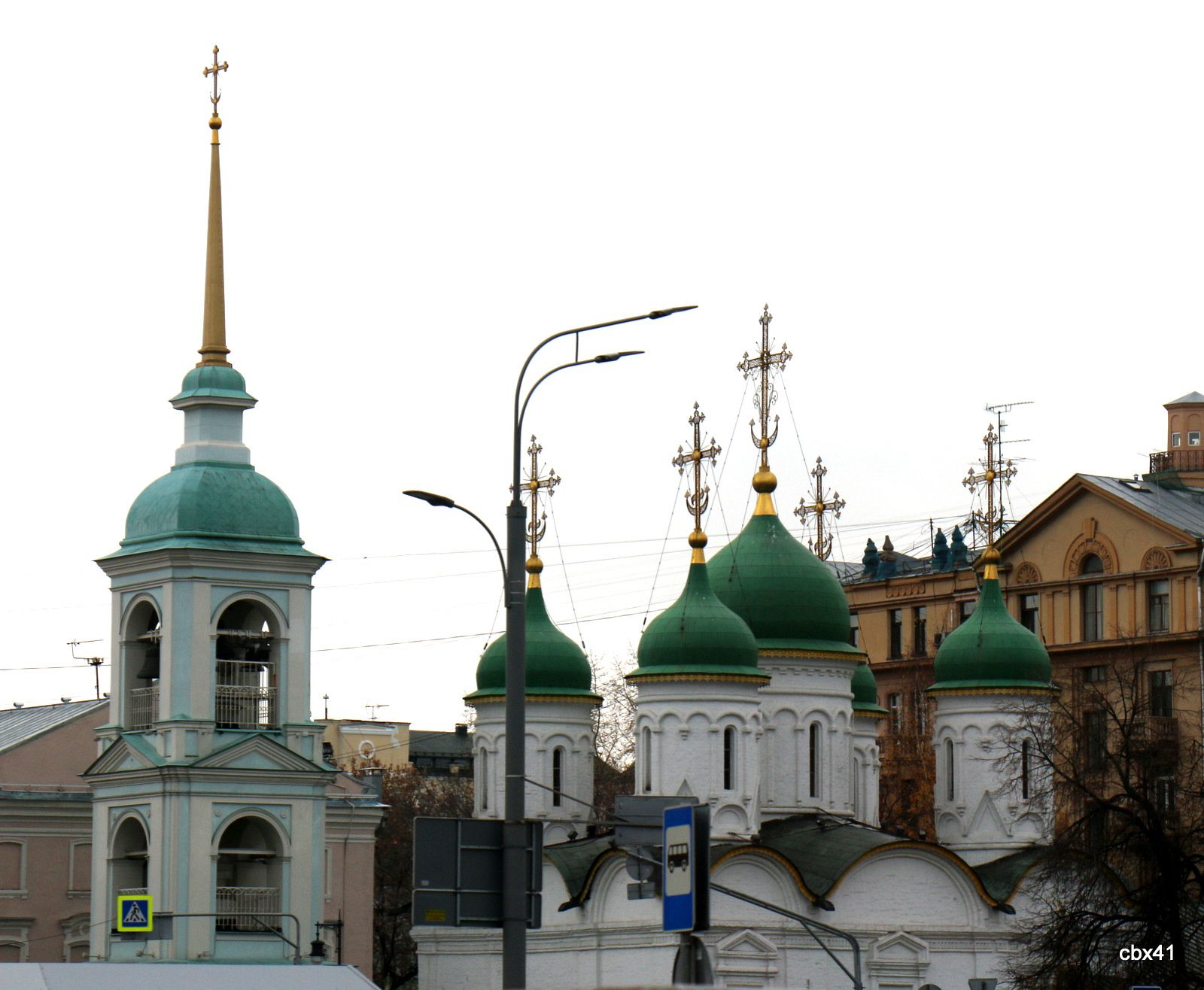 Moscou, premiers contacts