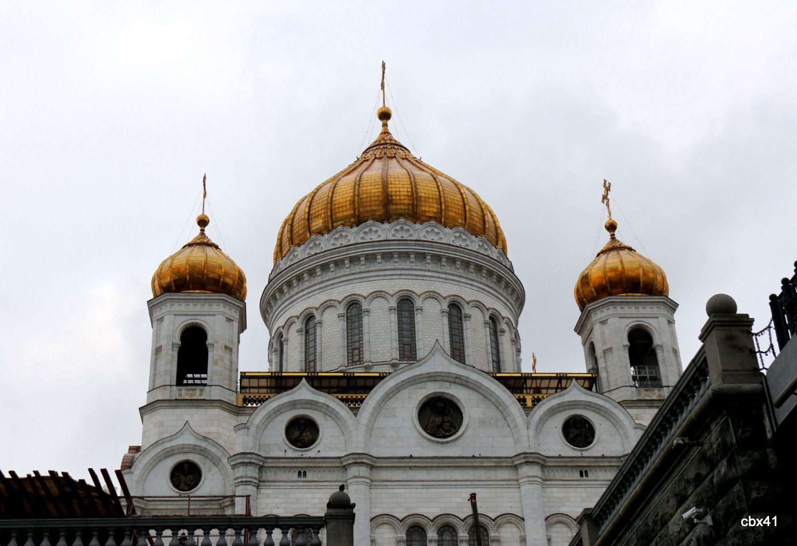 La cathédrale du Christ-Sauveur, Moscou