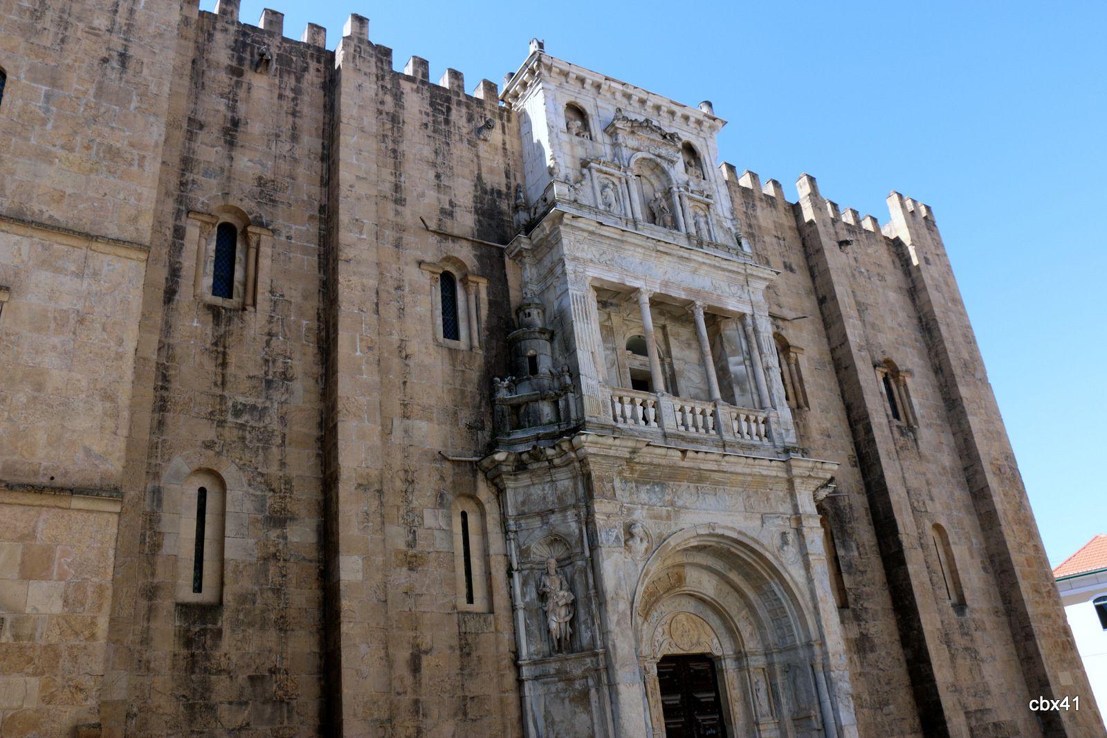 Cathédrale Velha de Coimbra (Portugal)