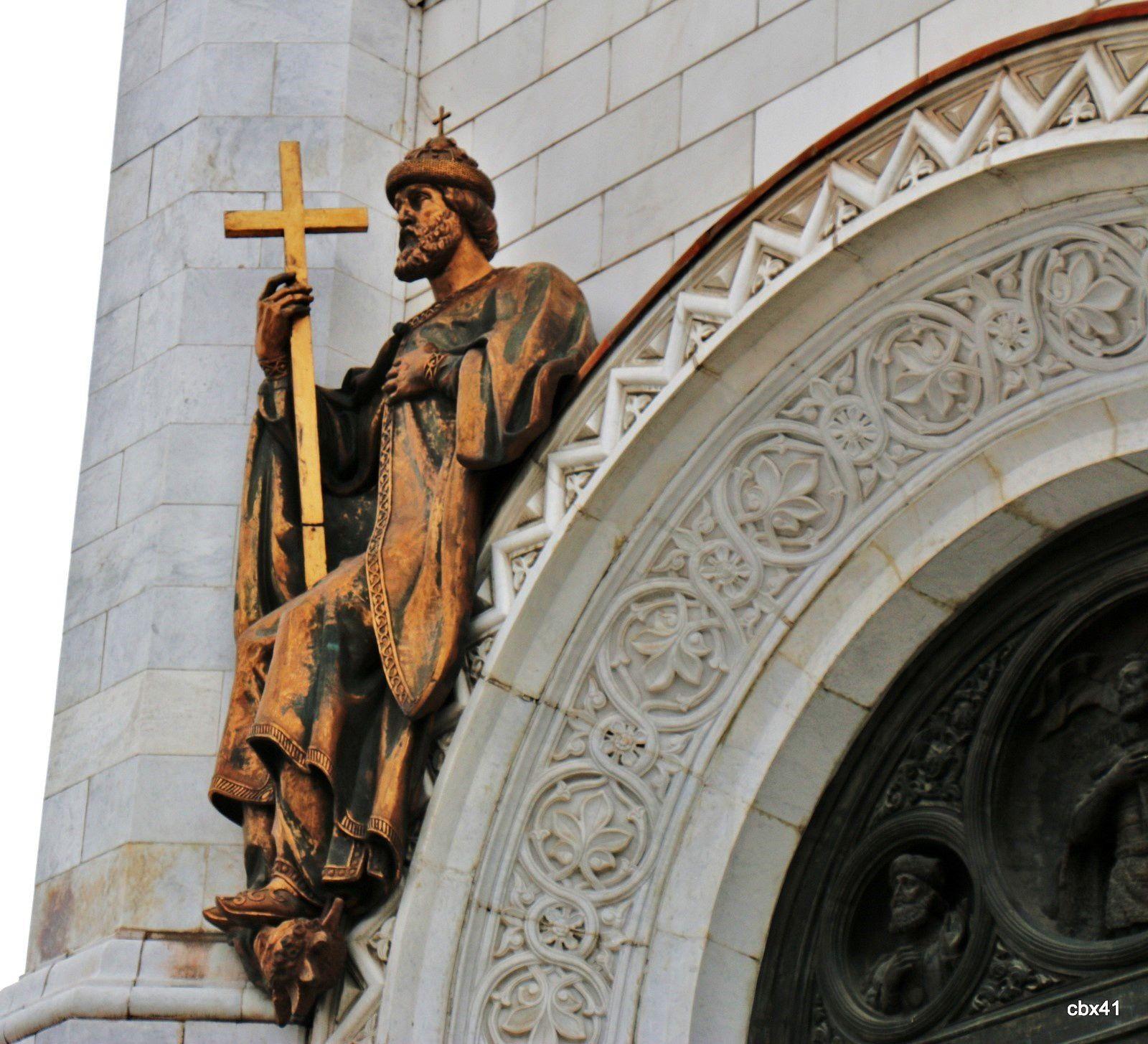 Hauts-reliefs des façades de la cathédrale du Christ-Sauveur, Moscou (2/2)