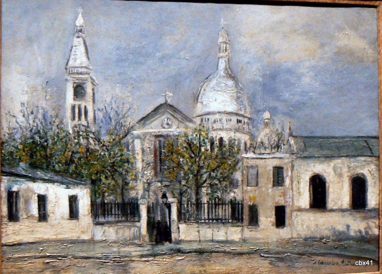 Maurice Utrillo, Eglise Saint-Pierre de Montmartre