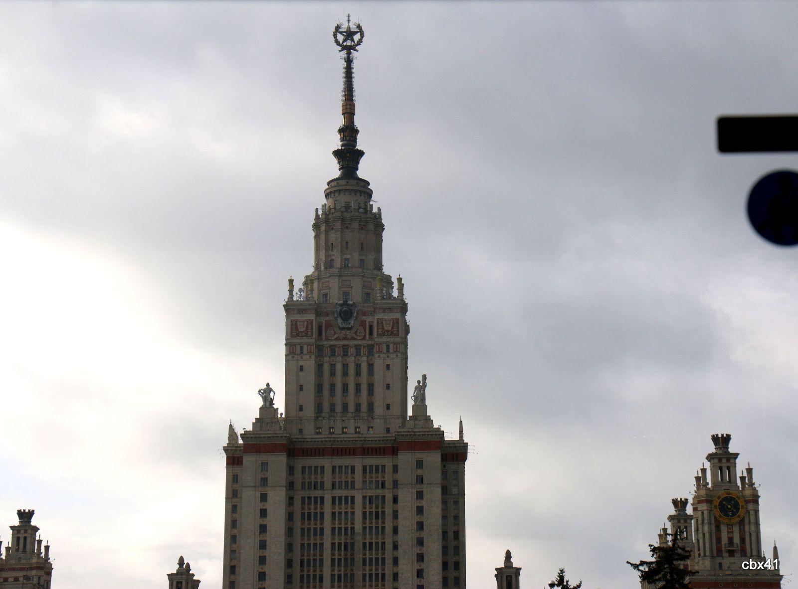 La colline des moineaux (stade Loujniki), Moscou