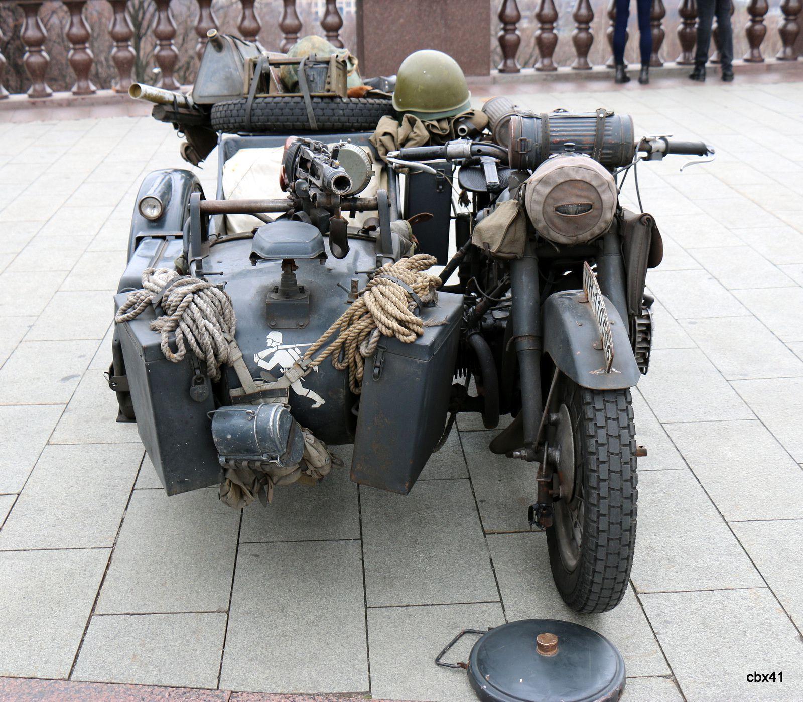 La colline des moineaux (motos et side-cars), Moscou