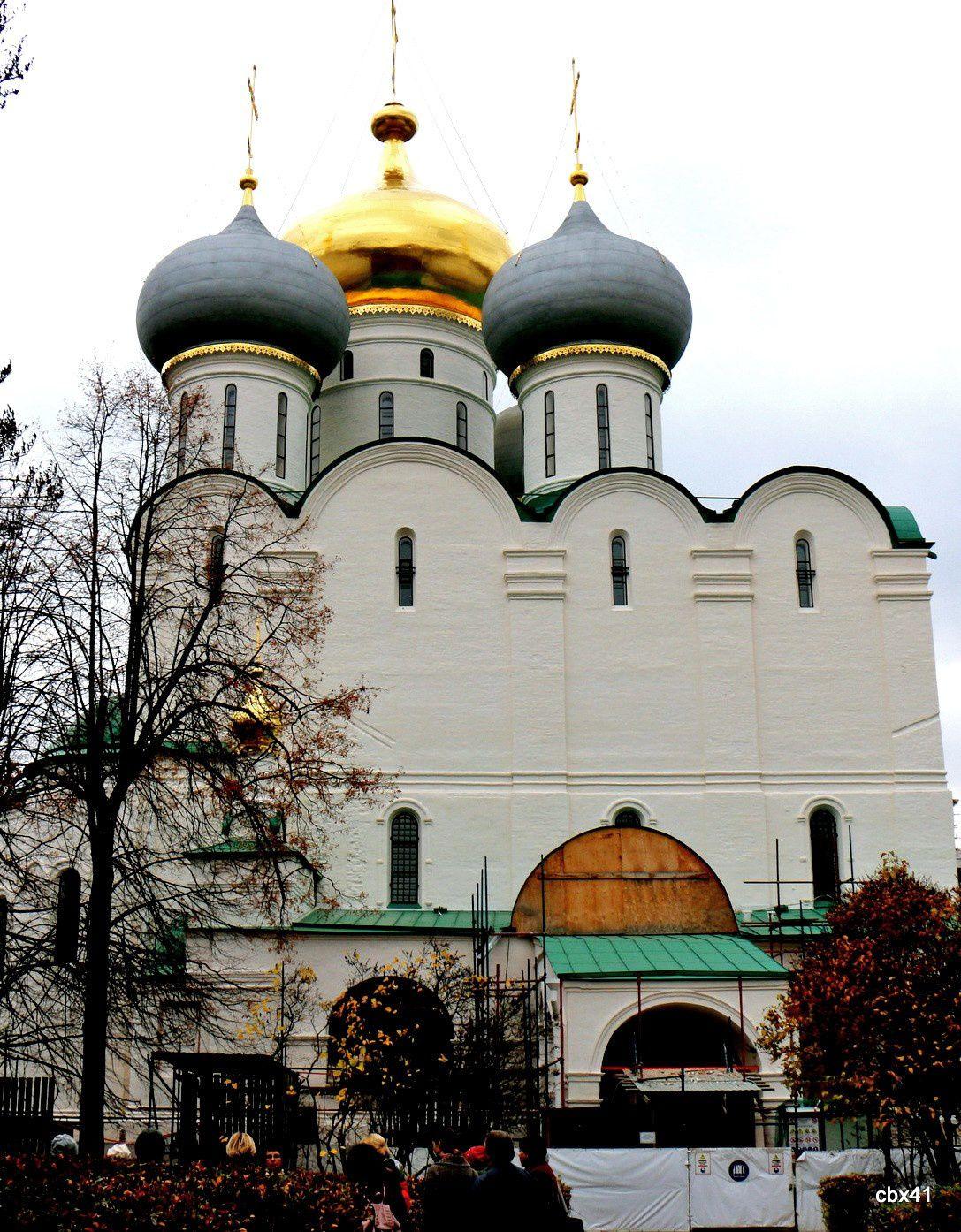 Couvent de Novodievitchi, Cathédrale de Smolensk (Moscou)