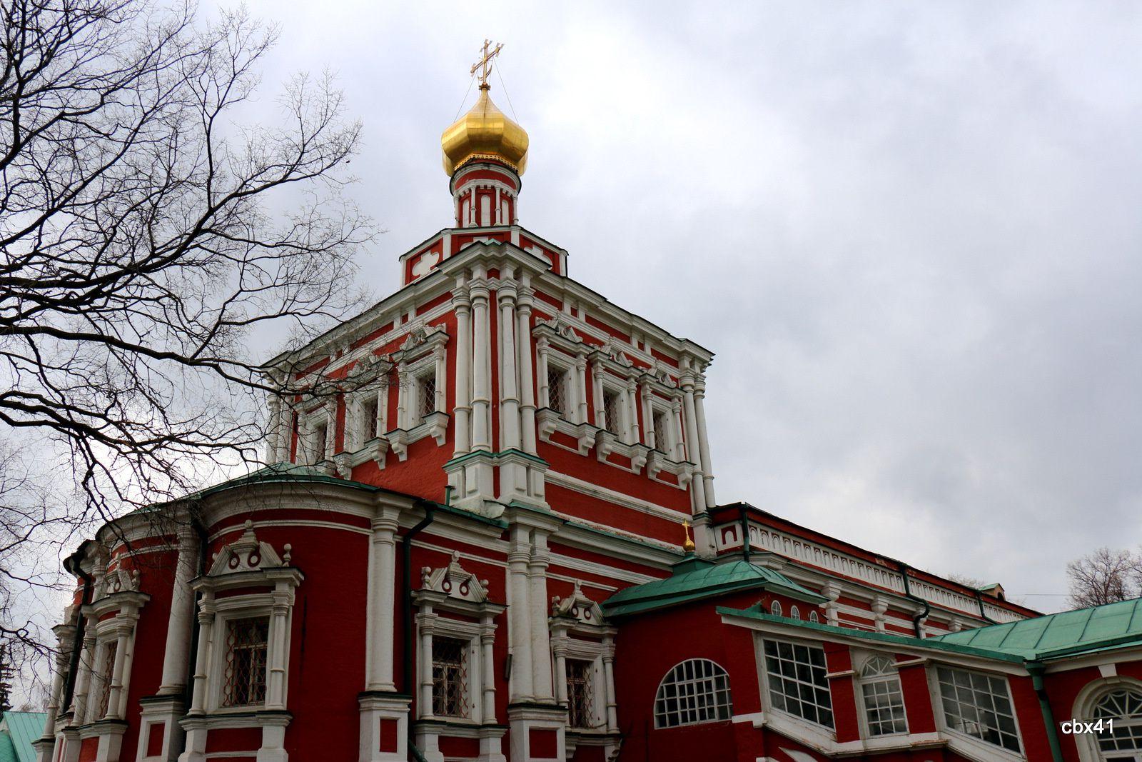 La cathédrale de la Dormition, Couvent de Novodievitchi (Moscou)