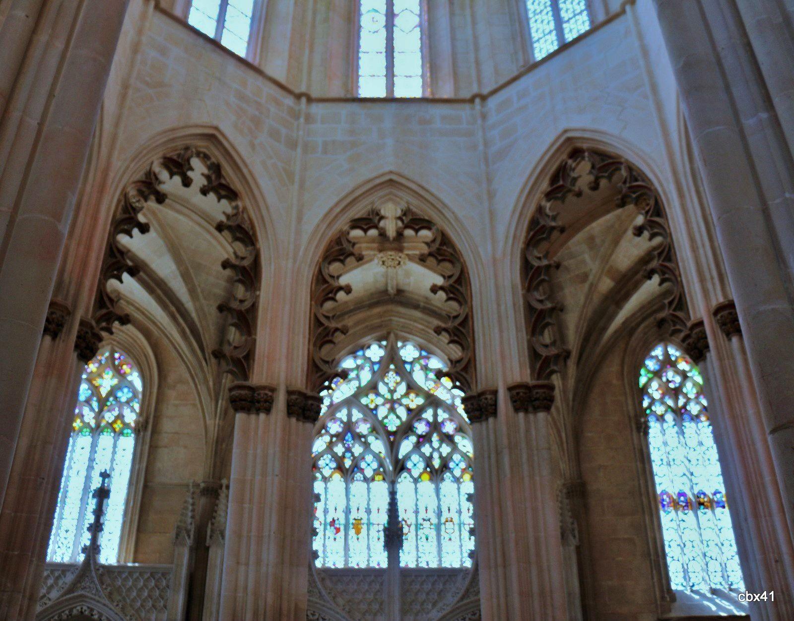 Chapelle du fondateur, monastère de Batalha (Portugal)