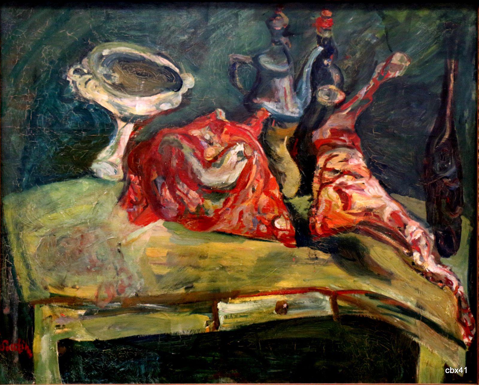 Chaïm Soutine, La table
