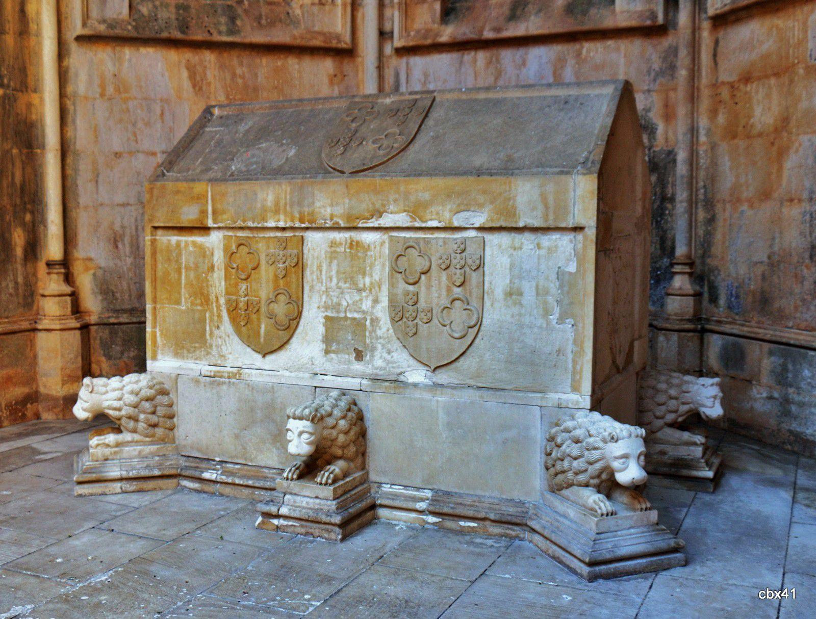 Tombeau de D. João, premier fils de D. Afonso V, monastère de Batalha (Portugal)