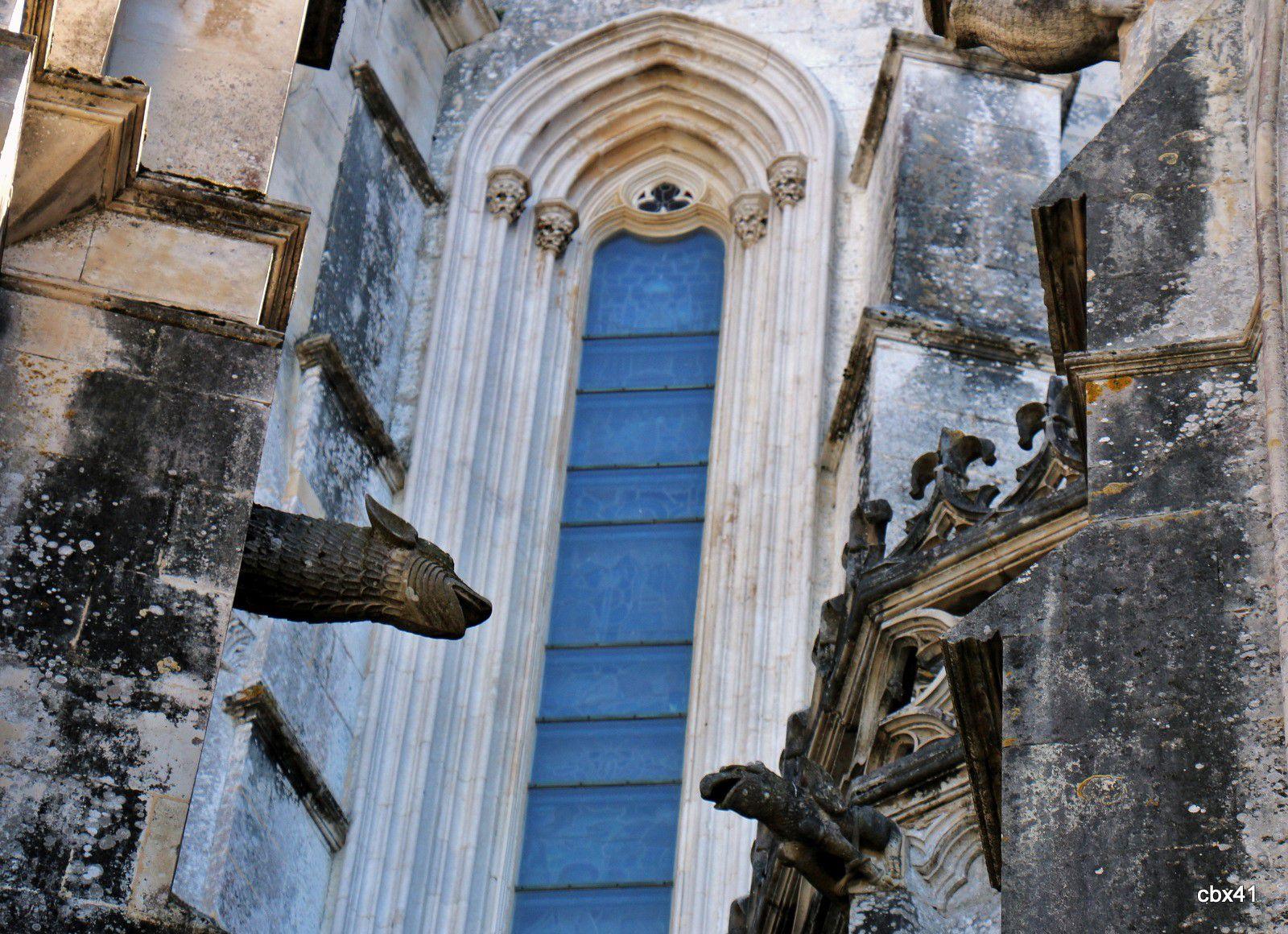 Gargouilles, Chapelles imparfaites du Monastère de Batalha (Portugal)