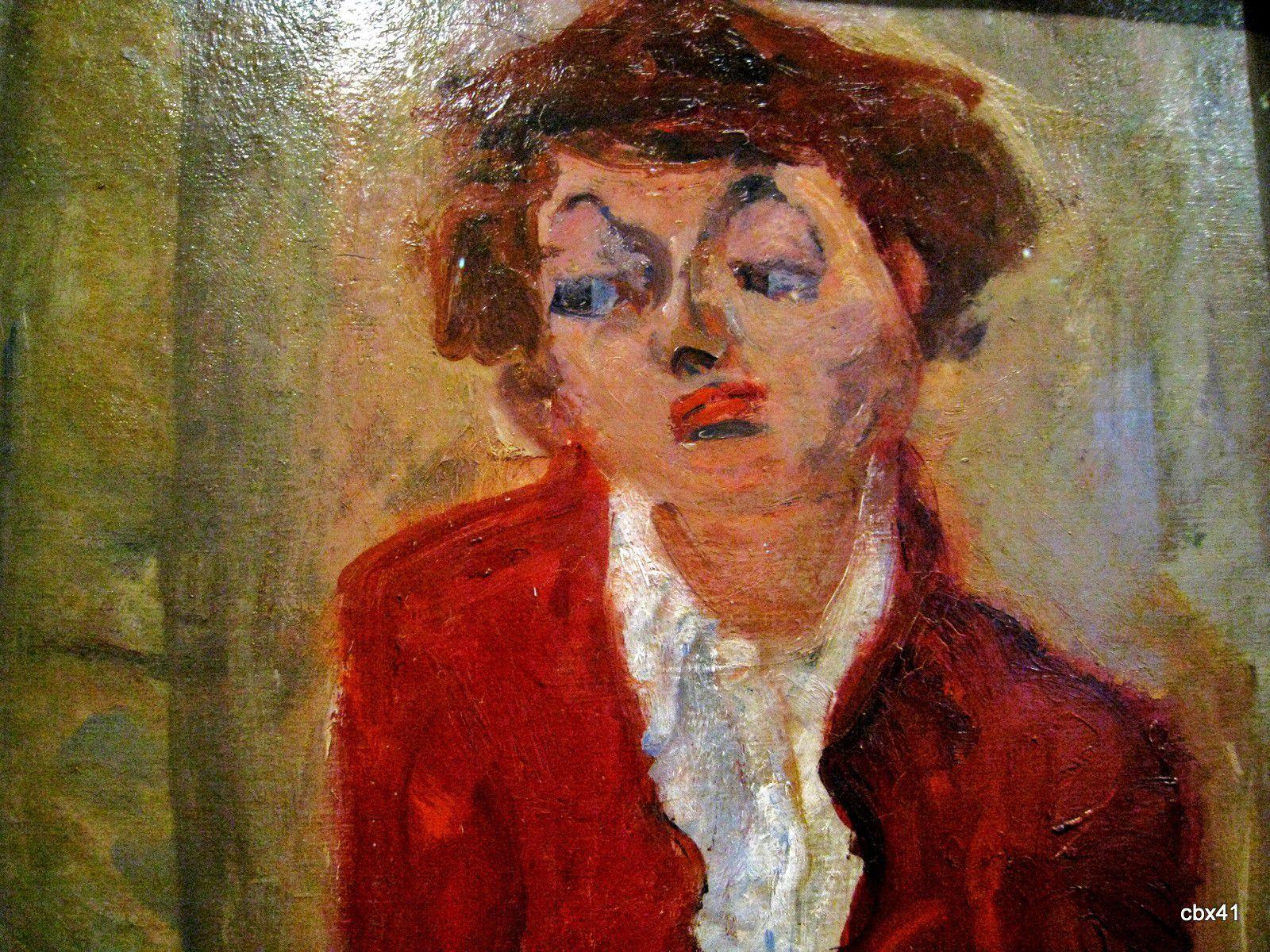 Chaïm Soutine, La jeune anglaise