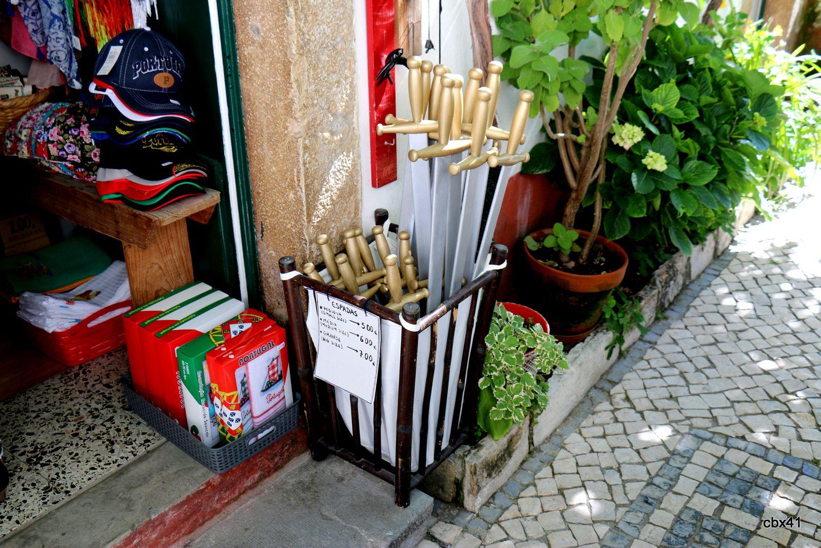 Boutiques de souvenirs, Óbidos (Portugal)