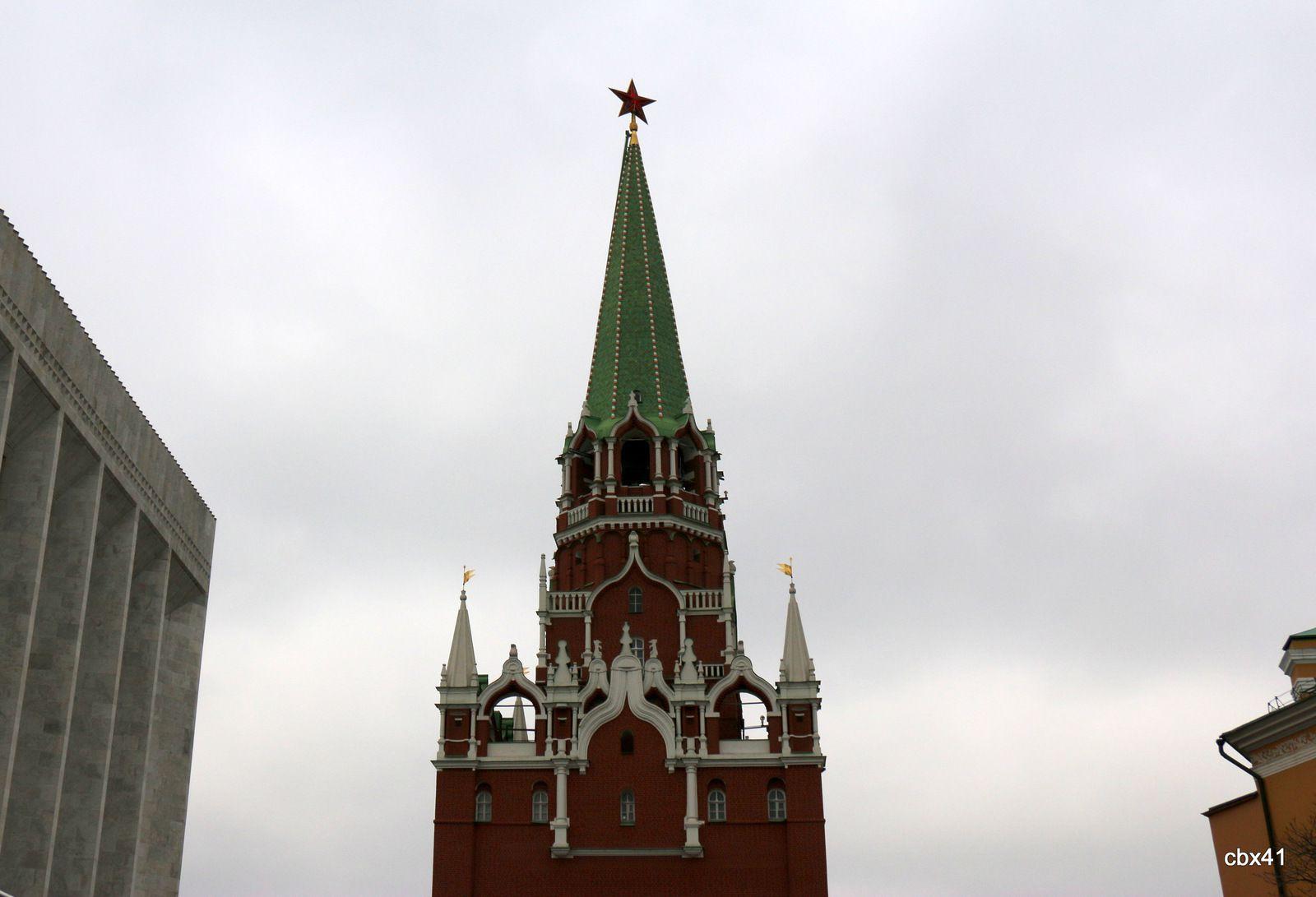La Tour Troïtskaïa, Kremlin de Moscou