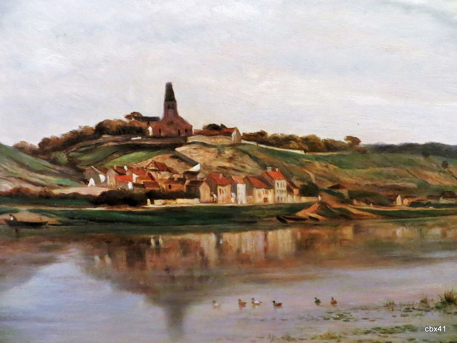 Charles François Daubigny, La Seine à Herblay